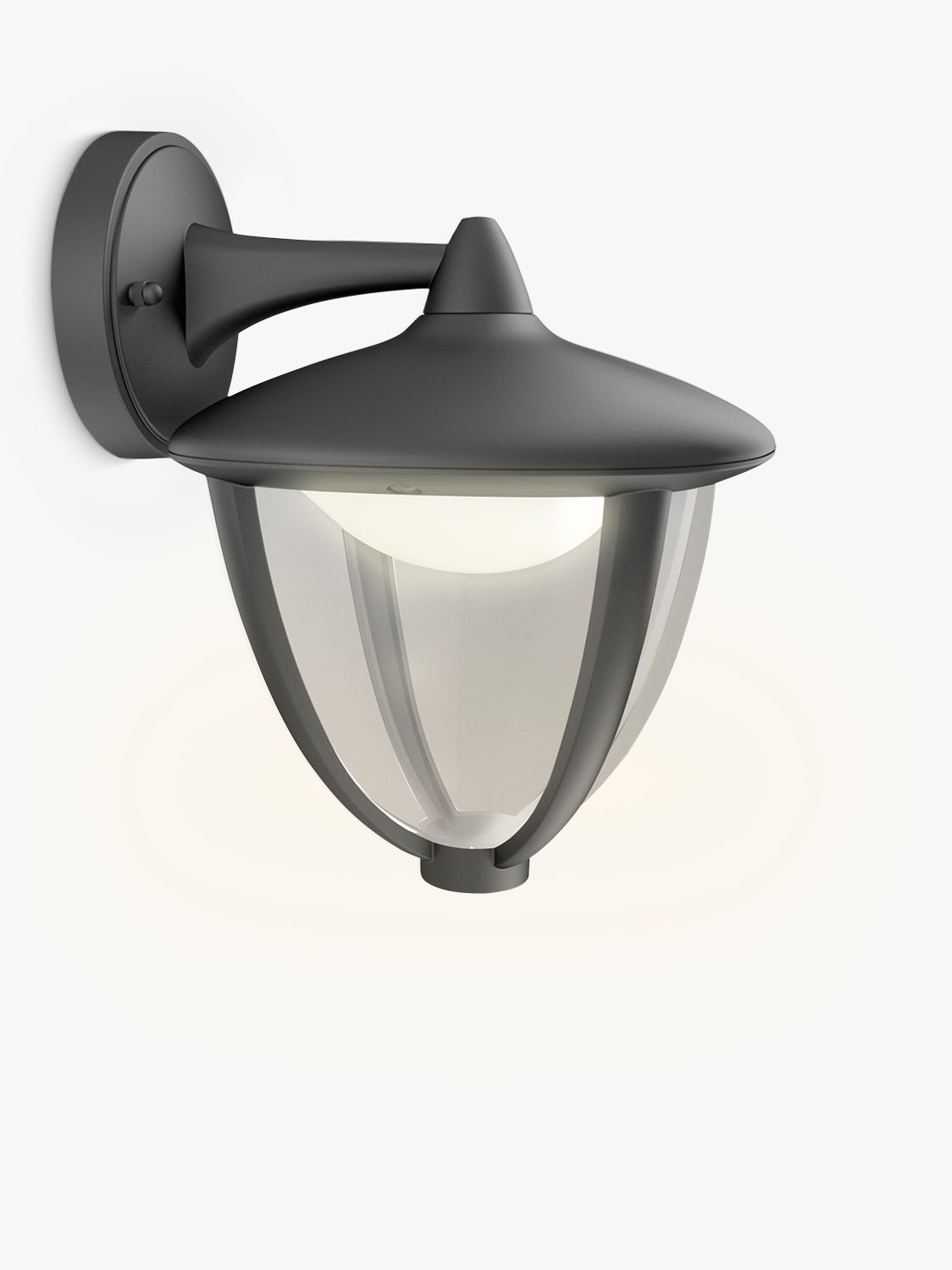 Philips Buitenverlichting Led Philips Robin Outdoor Led Lantern Wall Light Black At