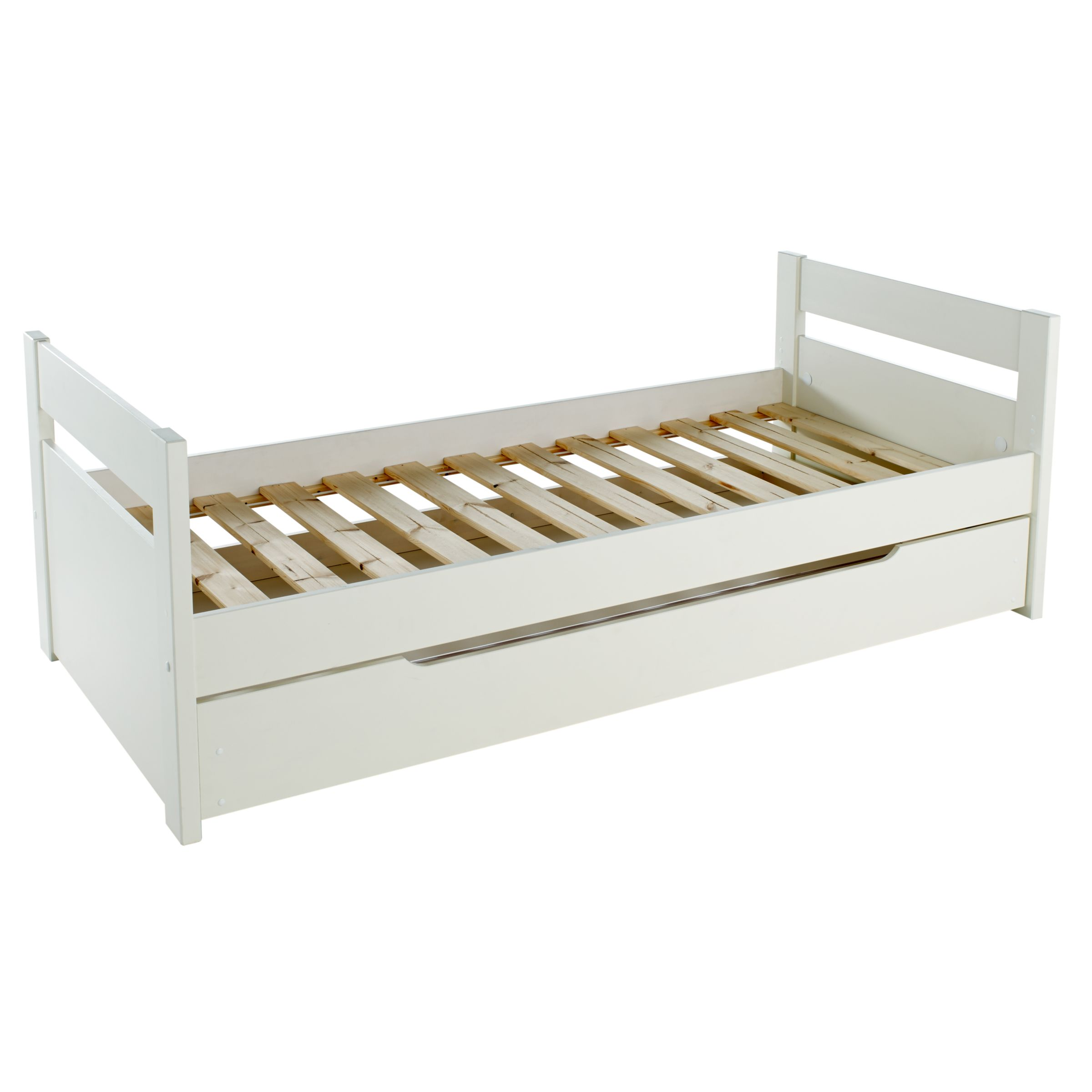 Long Single Bed Stompa Originals Guest Bed Frame And Trundle Extra Long Single