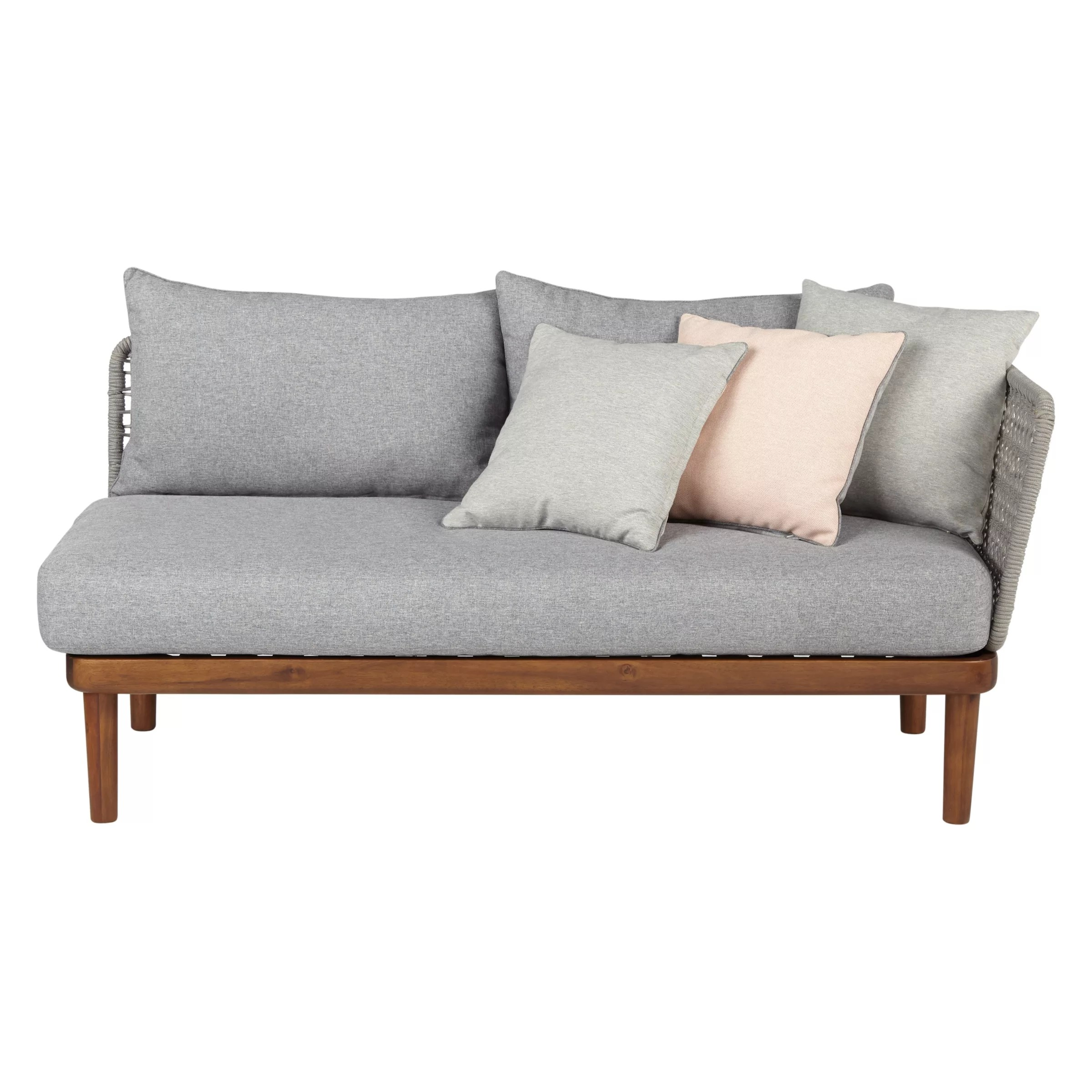 Settee No Arms Design Project By John Lewis No 096 Lounging One Arm Sofa Fsc