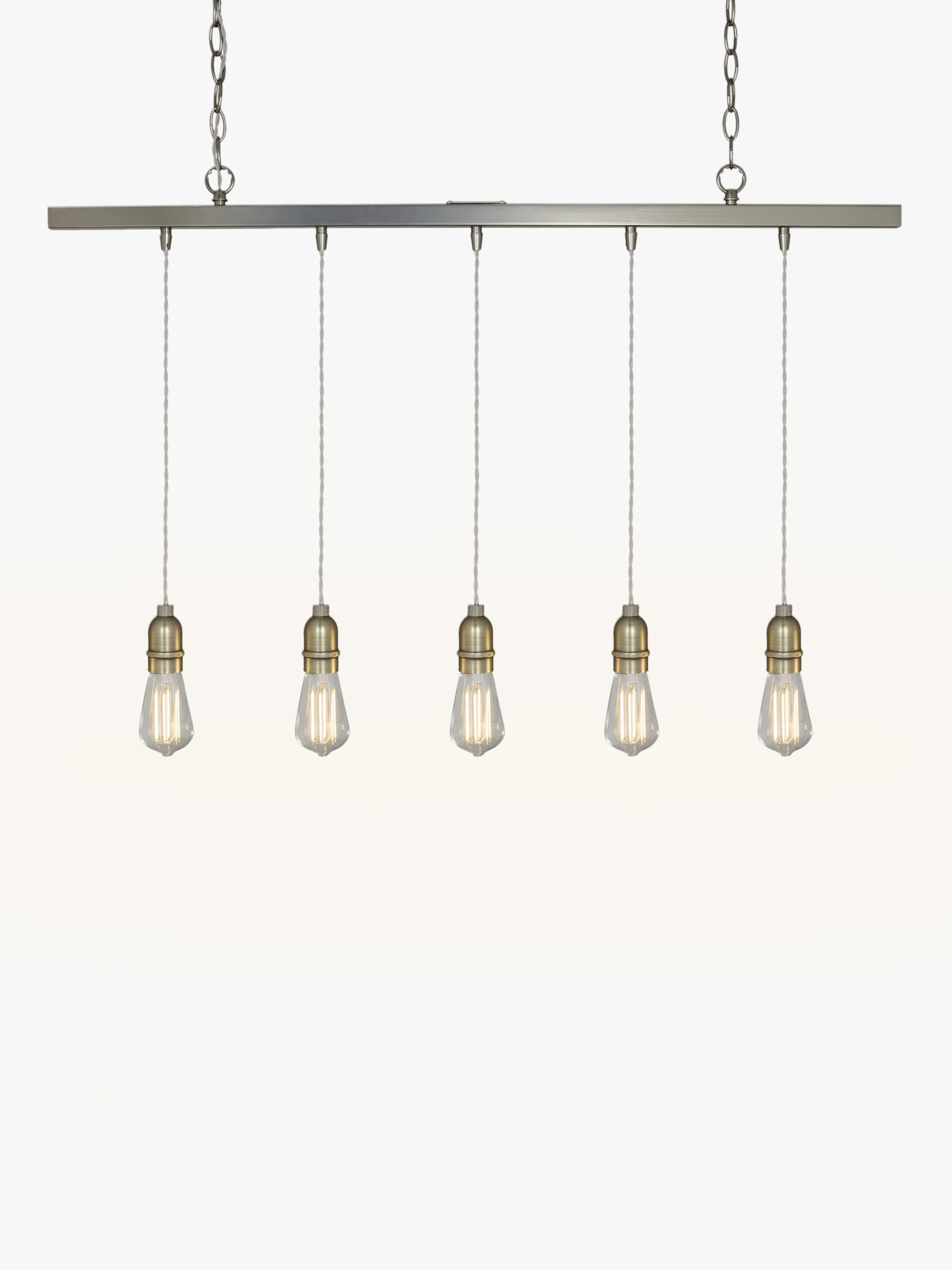 Pendant Bar Lighting John Lewis Bistro Bar Pendant Ceiling Light 5 Light