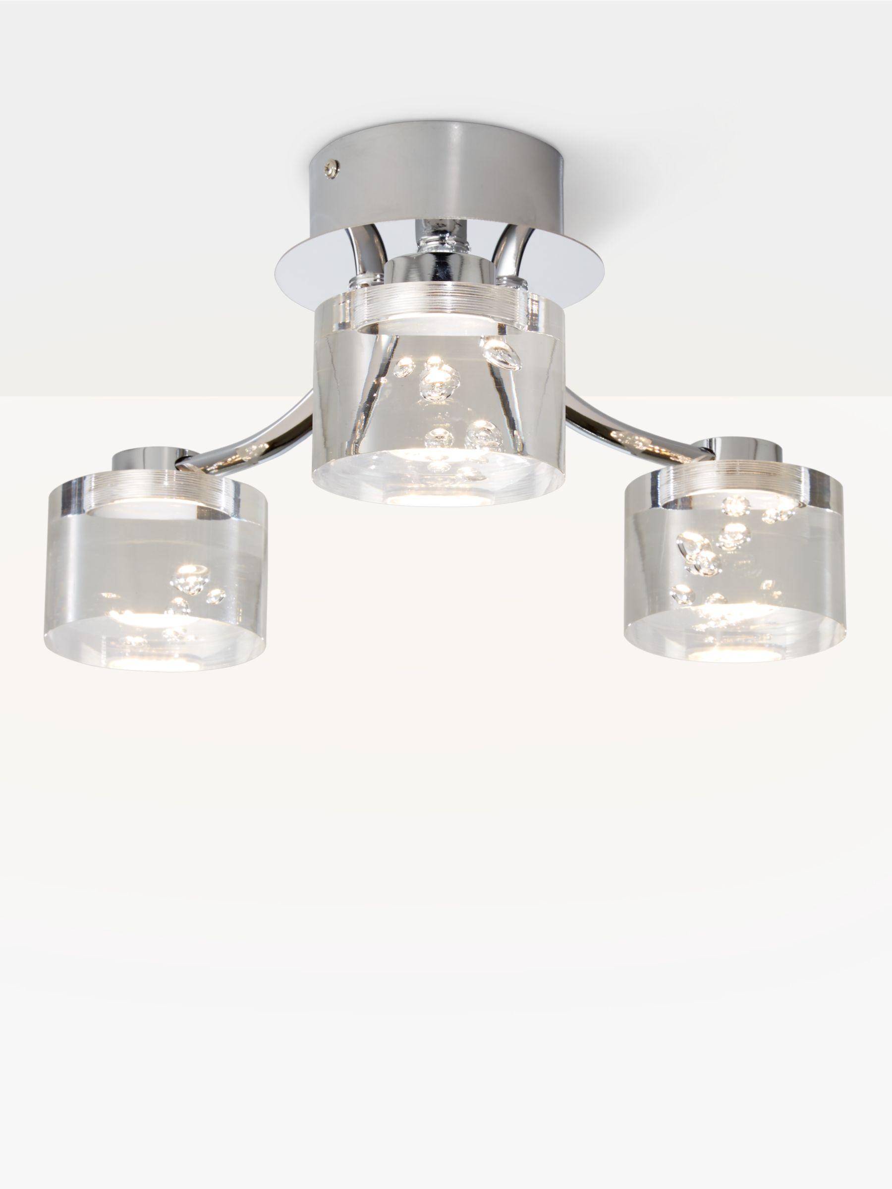 John Lewis Lawrence LED Bubble Flush Ceiling Light, 3