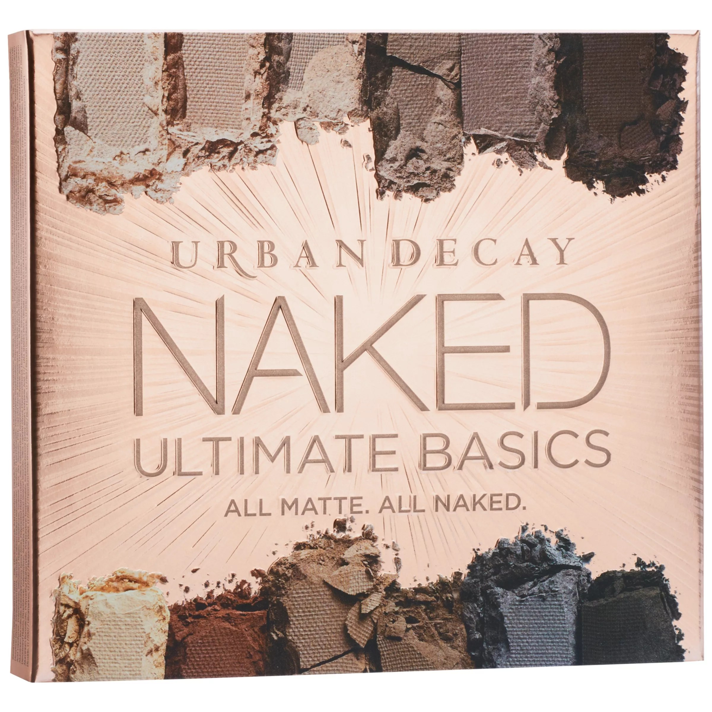 Tables En Palettes Urban Decay Naked Ultimate Basics Eyeshadow Palette