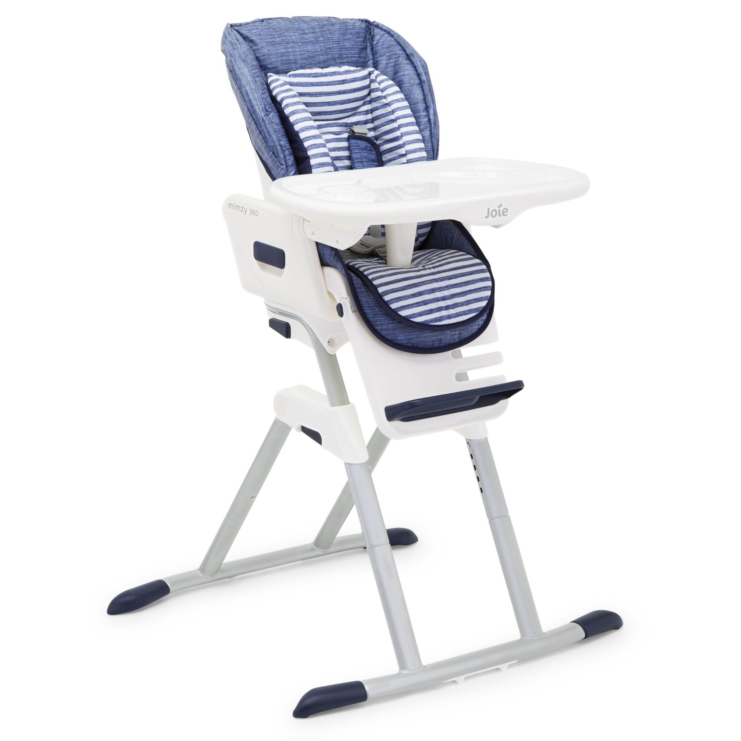 Joie Baby High Chair John Lewis Joie Baby Mimzy 360 Highchair Denim At John Lewis