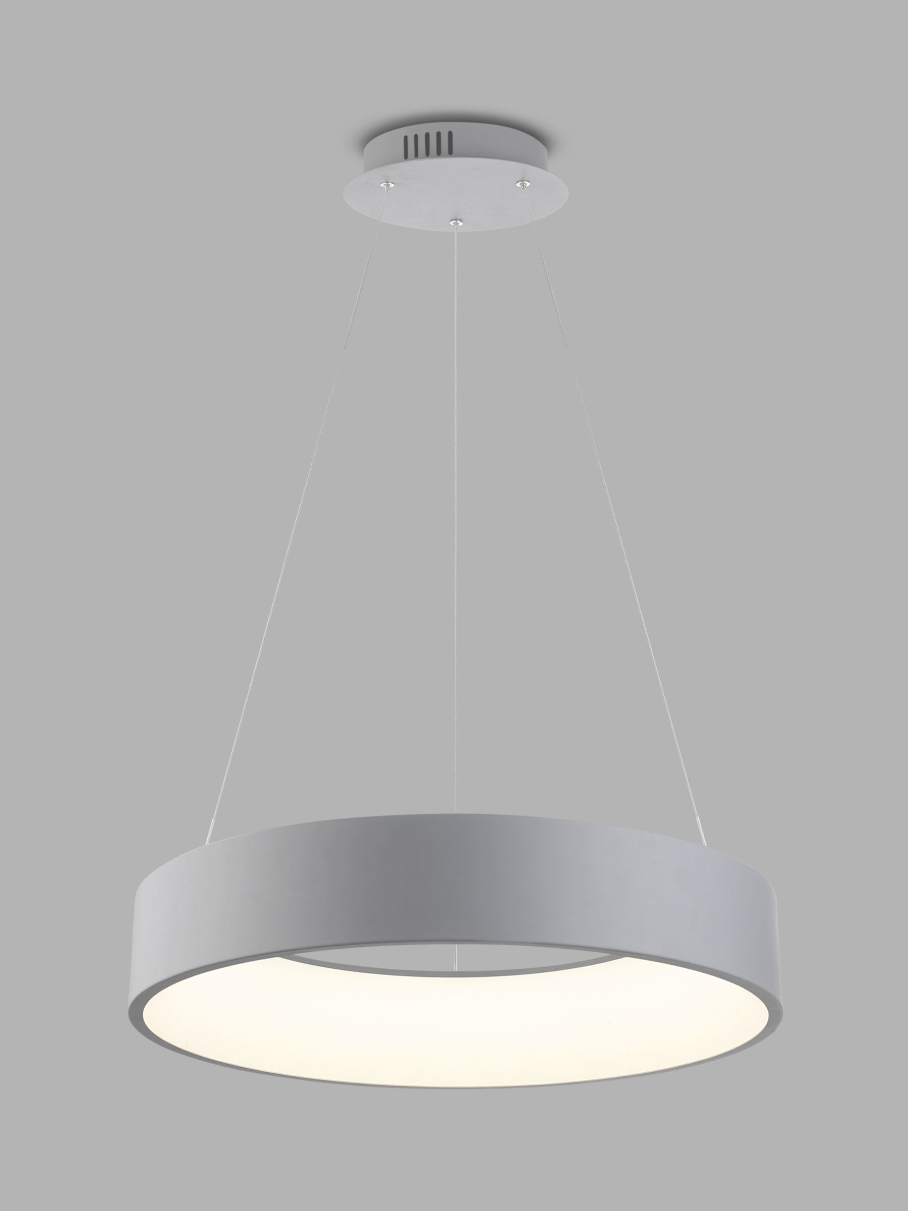 Ceiling Design Online Design Project By John Lewis No 132 Finn Led Hoop Ceiling Light