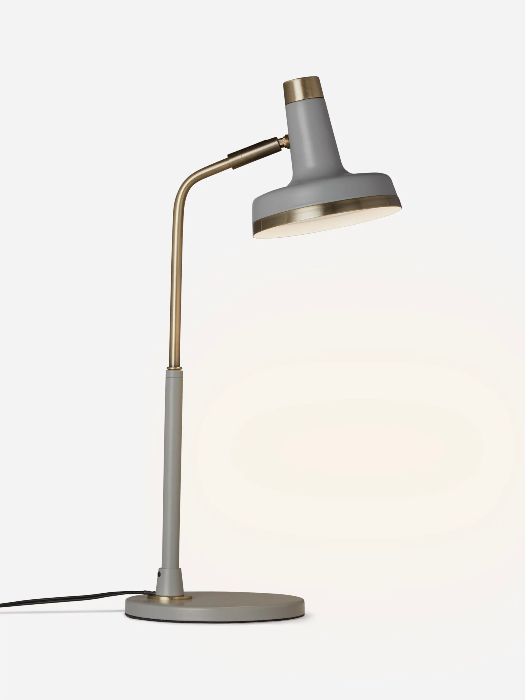 Brass Touch Lamps Bedside John Lewis Scott Led Touch Lamp Grey Brass At John Lewis