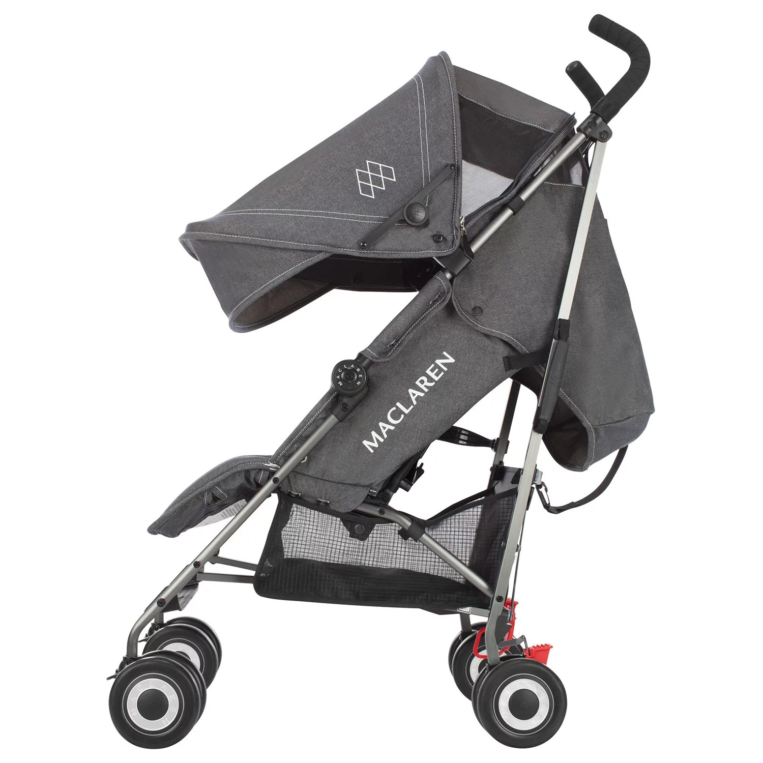 Maclaren Stroller Uk Reviews Maclaren Quest Stroller Denim Charcoal At John Lewis Partners