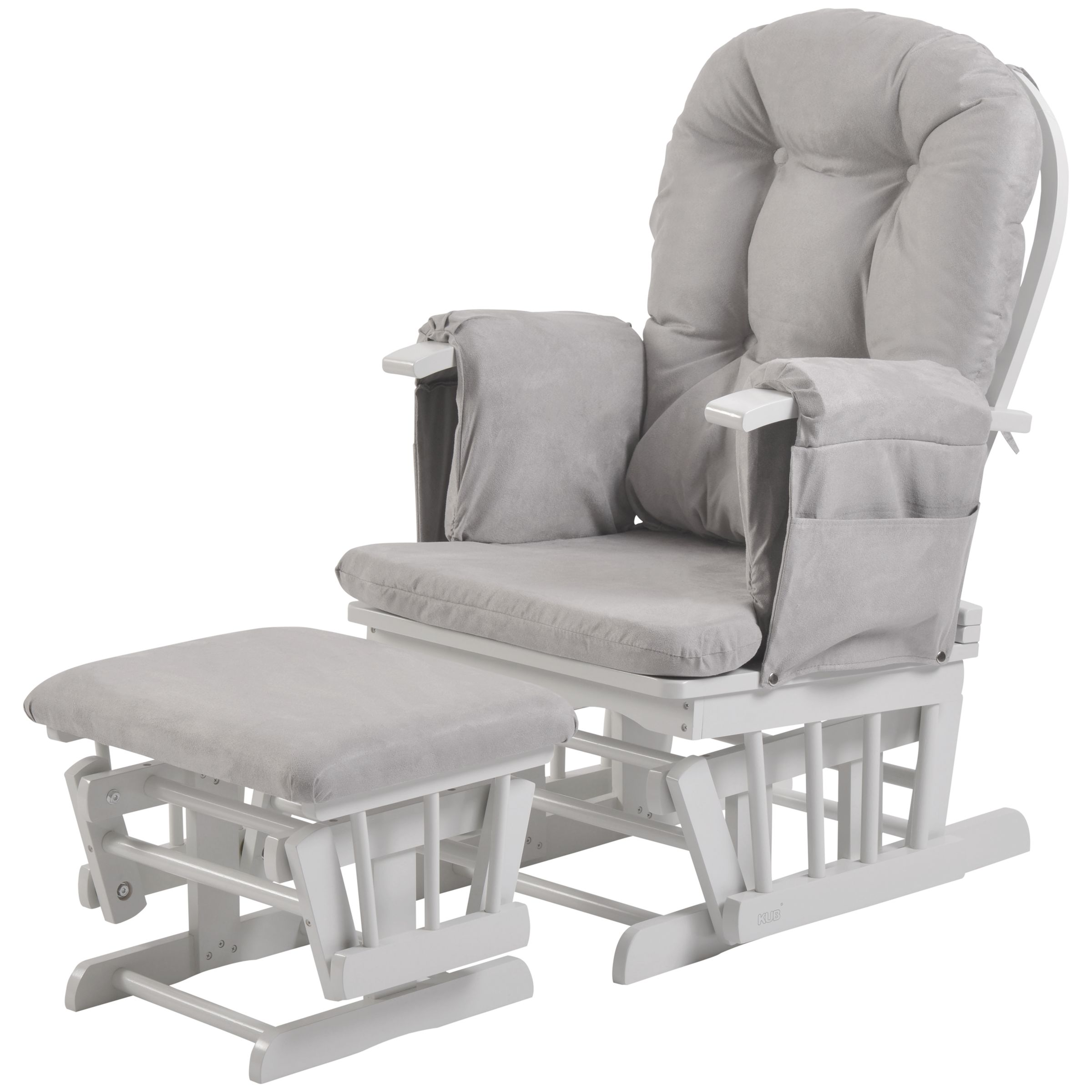 Baby Nursing Chair Kub Haywood Reclining Glider Nursing Chair And Footstool
