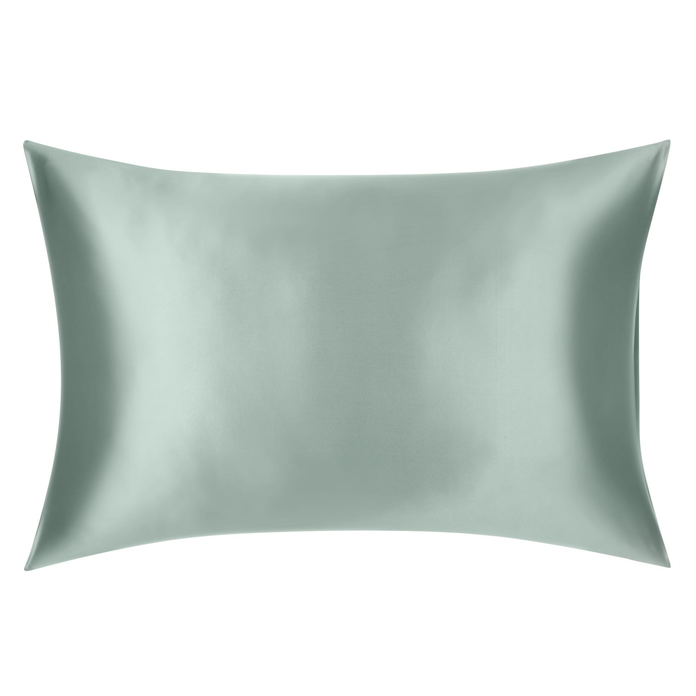 Slip Pillowcase John Lewis Partners The Ultimate Collection Silk Standard Pillowcase Mint