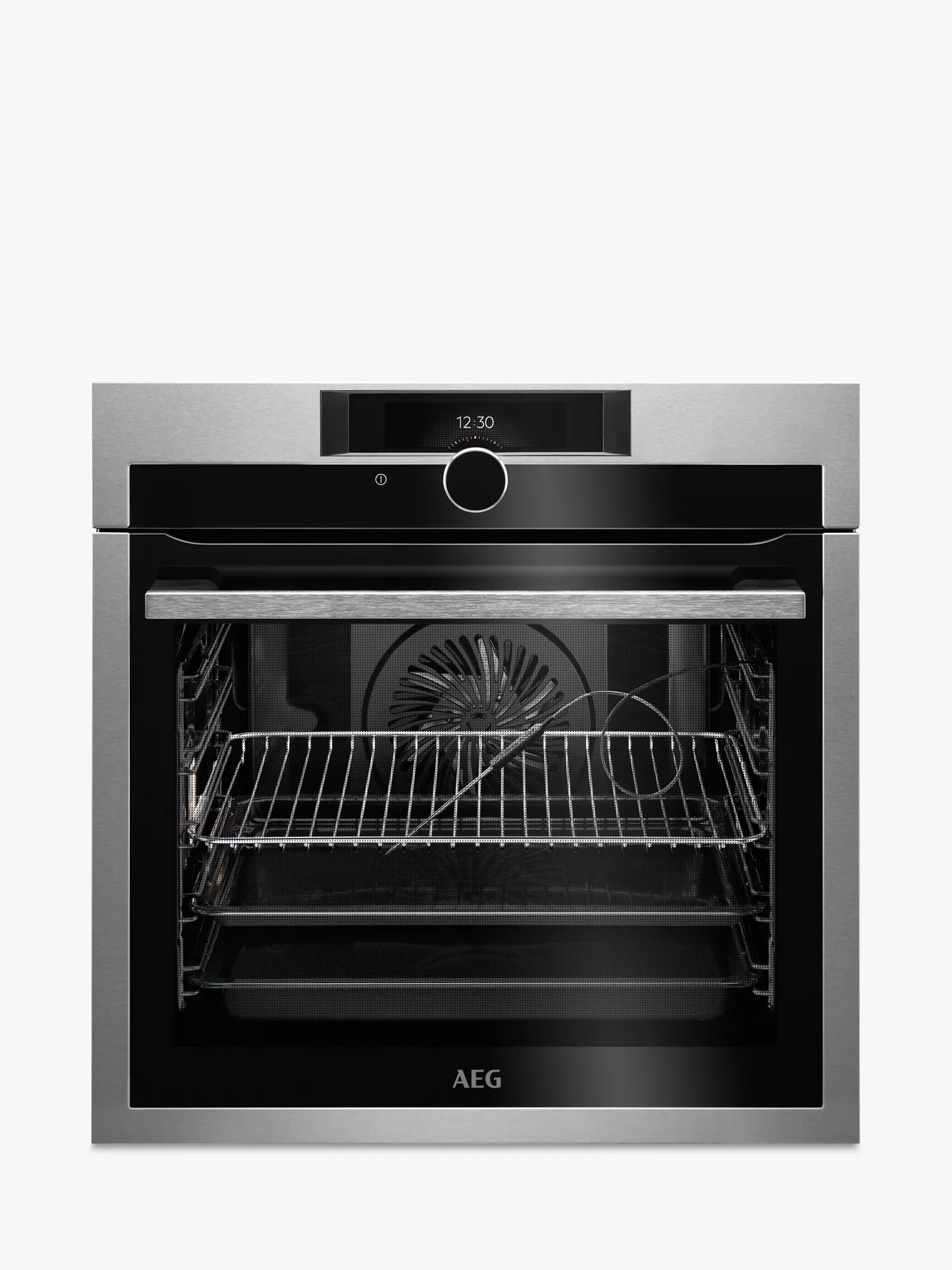 Aeg Online Shop Aeg Bpe842720m Built In Single Oven Stainless Steel At John Lewis