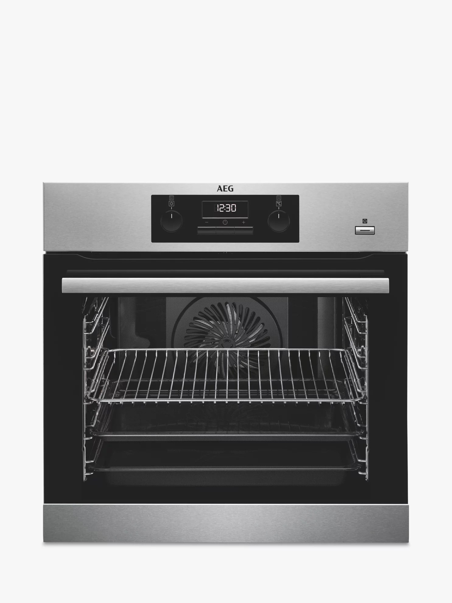 Aeg Online Shop Aeg Bes351010m Built In Multifunction Single Oven Stainless Steel