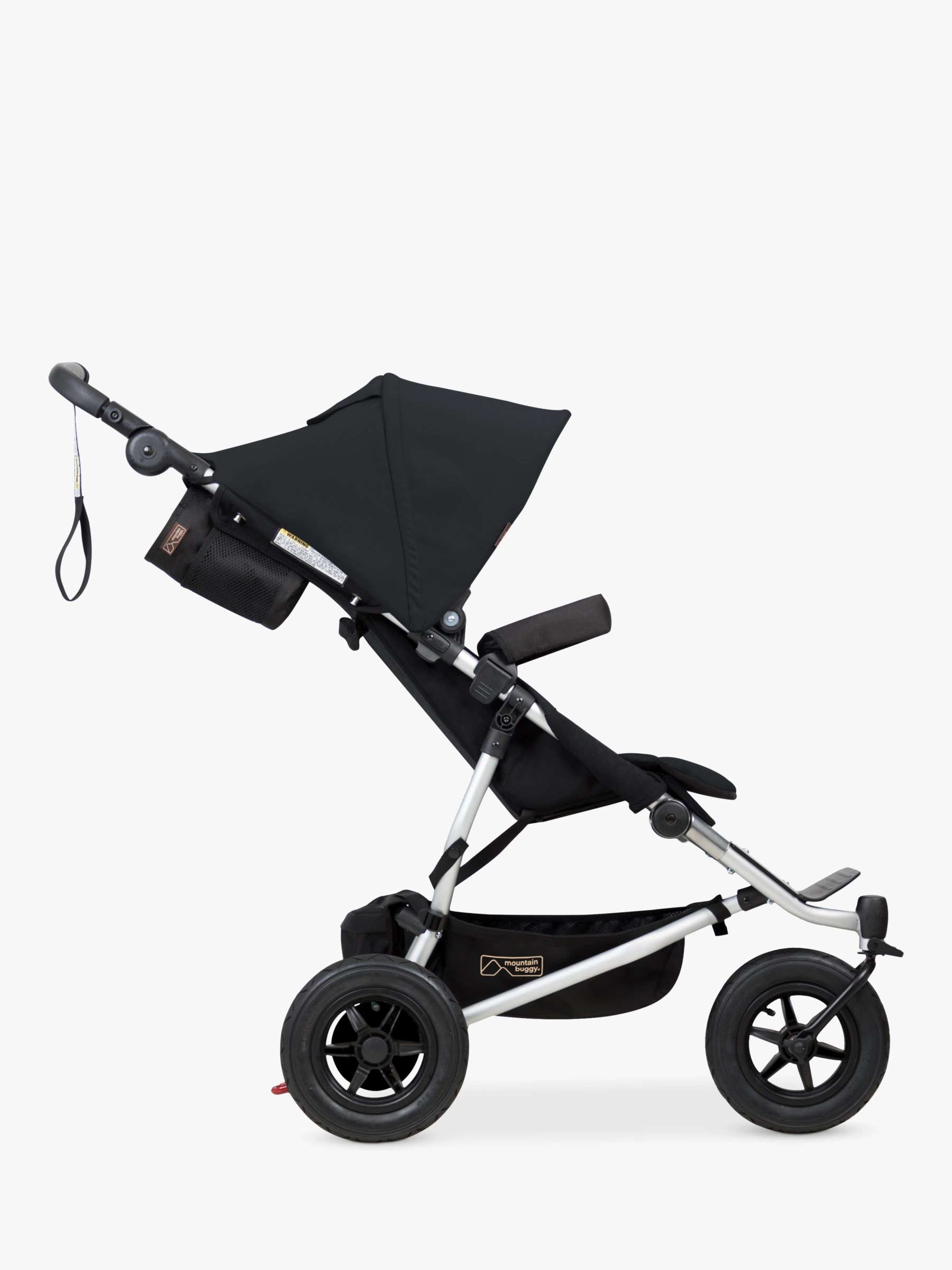 Black Buggy Days 2018 Mountain Buggy Duet V3 Pushchair Black