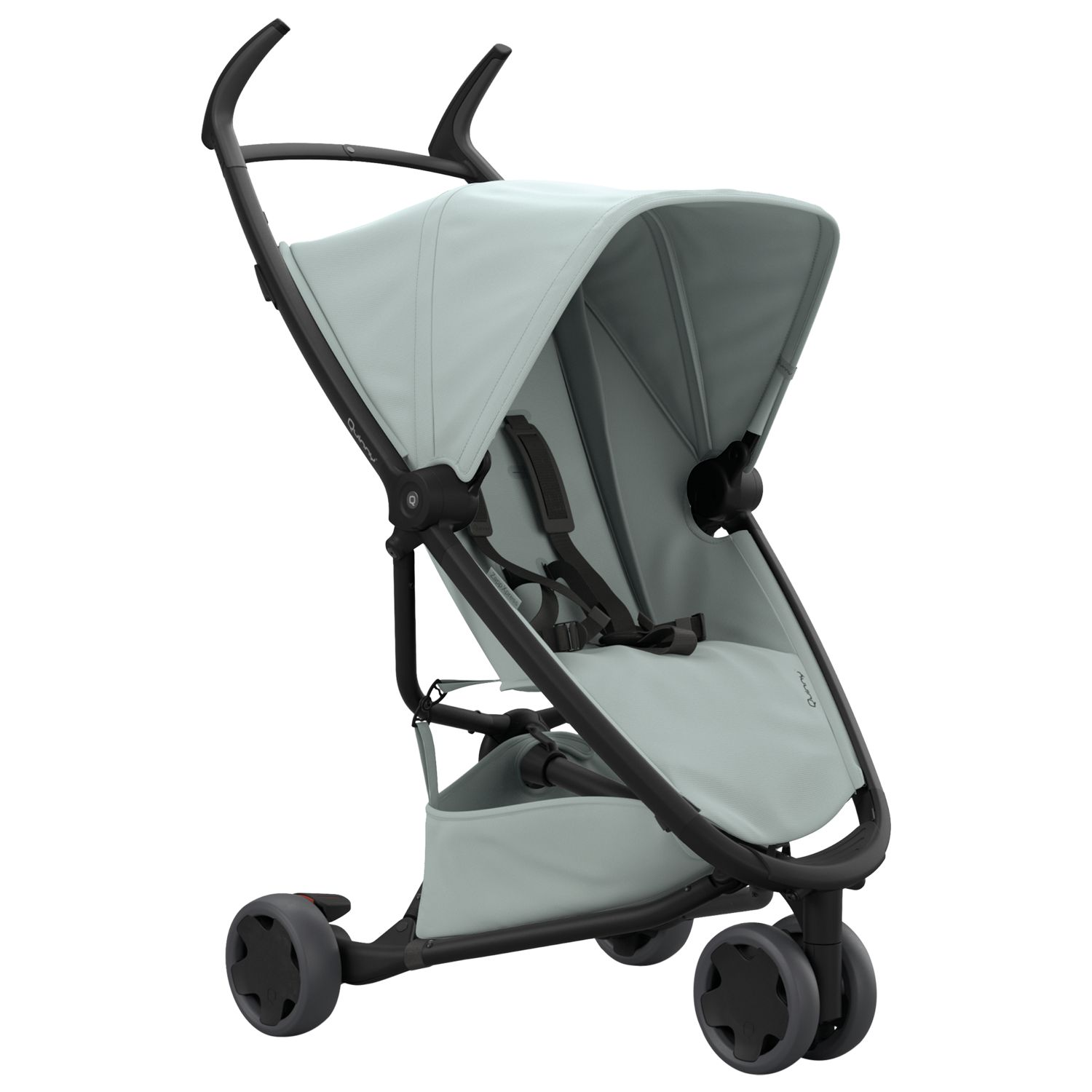 John Lewis Pushchairs From Birth Quinny Zapp Xpress Pushchair Grey At John Lewis Partners
