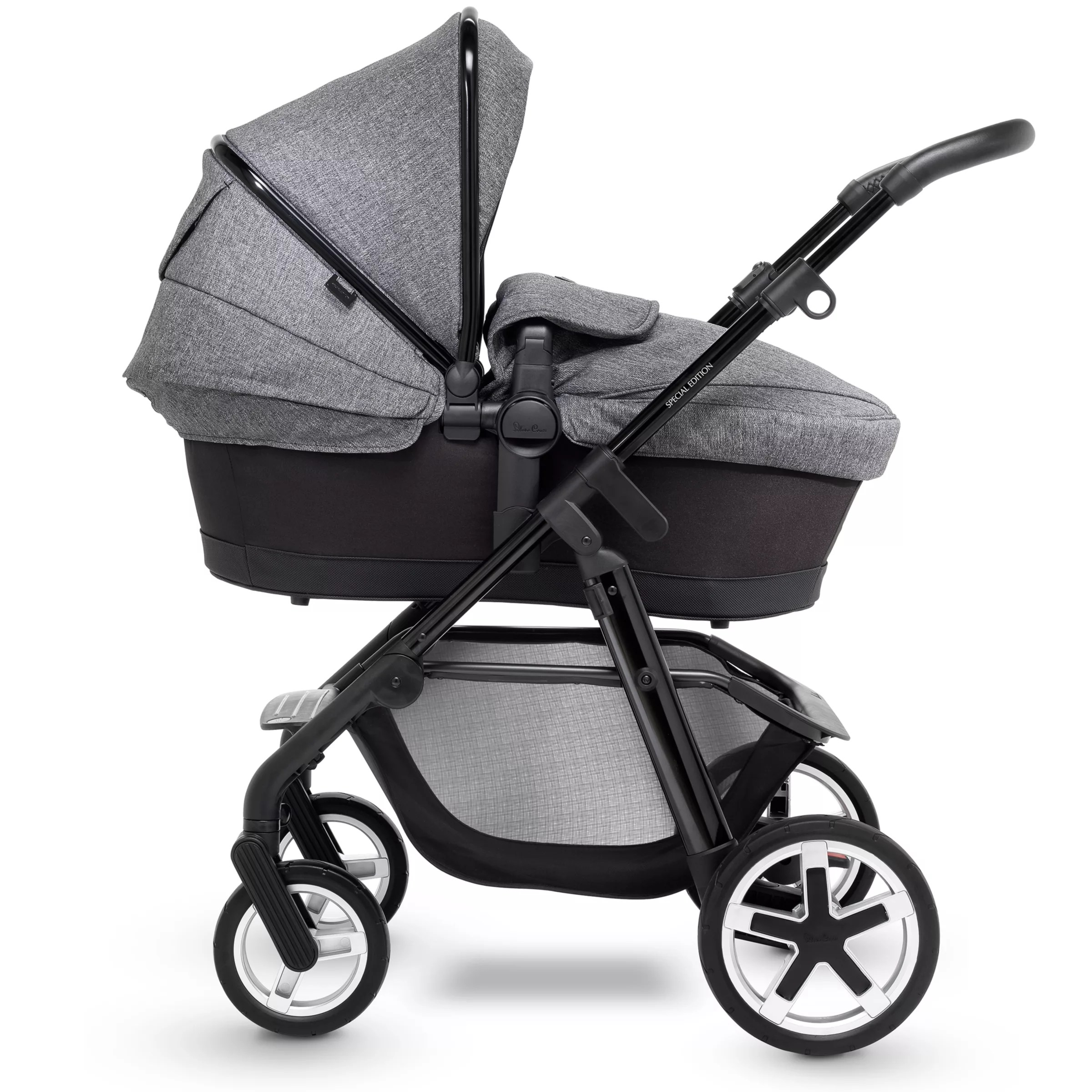 Silver Cross Brompton Pushchair Silver Cross Pioneer Exclusive Package Pushchair Monomarque