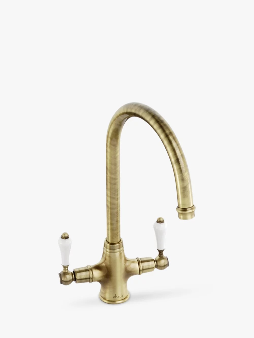 Traditional Taps Australia Abode Ludlow 2 Lever Monobloc Kitchen Tap At John Lewis Partners