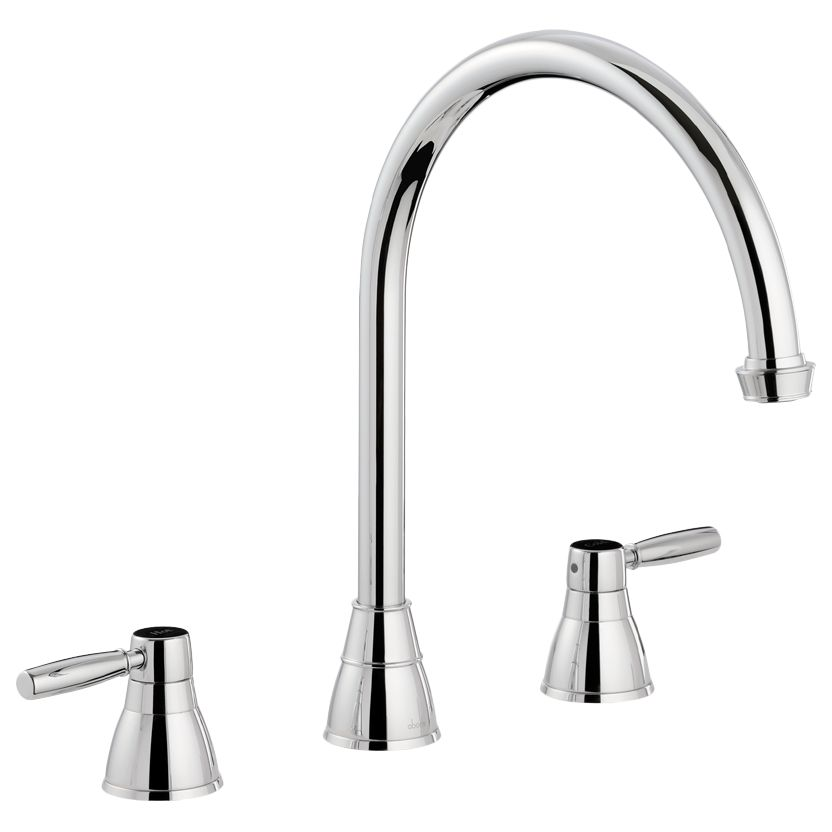 Kitchen Mixer Tap Abode Brompton 2 Lever 3 Hole Kitchen Mixer Tap At John Lewis