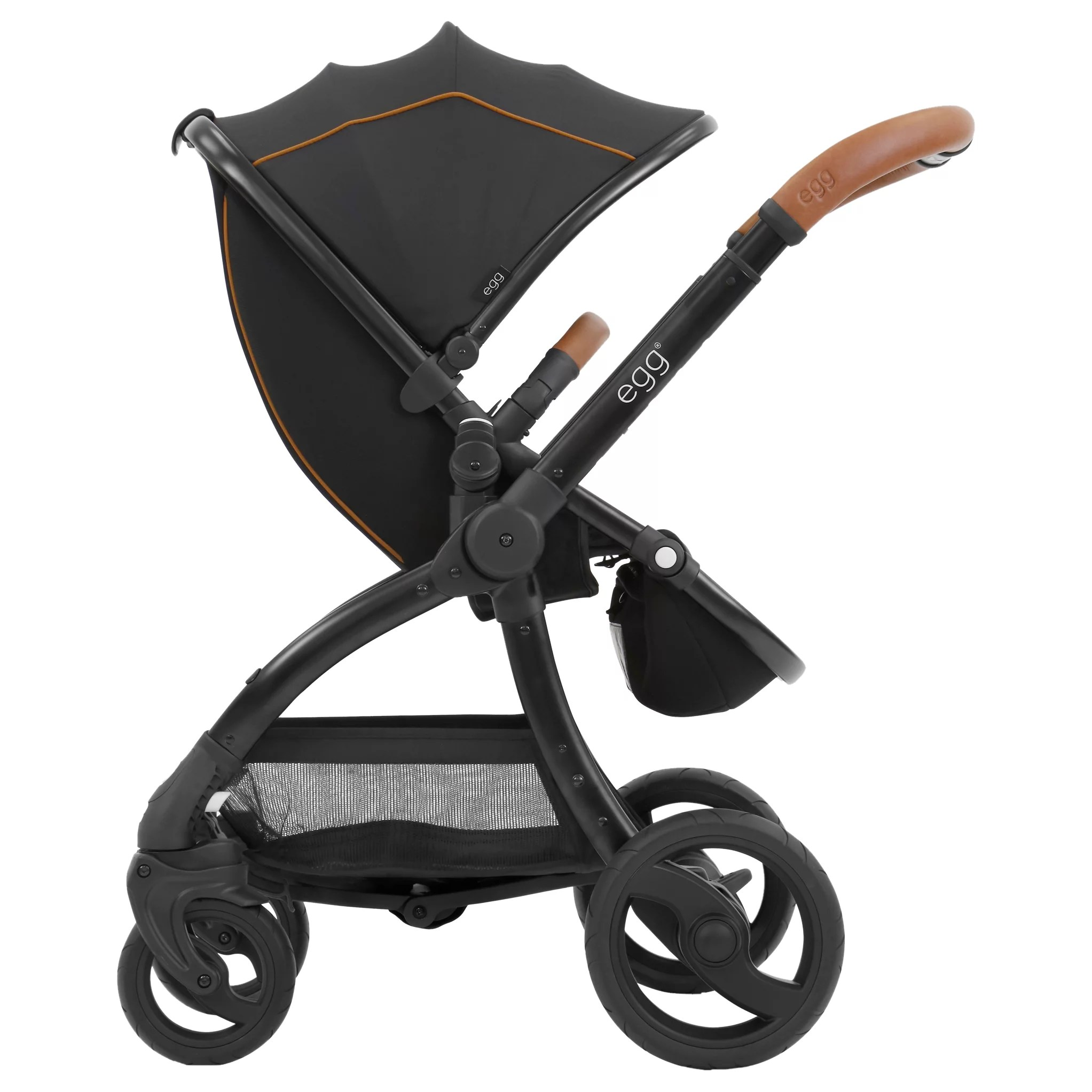 Egg Pram Parasol John Lewis Egg Stroller Base And Seat With Fleece Liner Espresso At