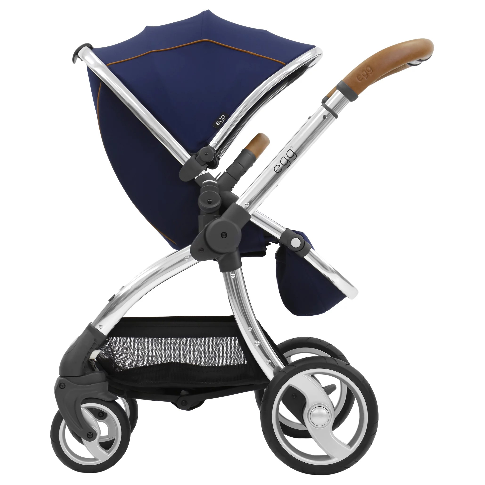 Egg Pram Parasol John Lewis Egg Stroller Base And Seat With Fleece Liner Regal Navy At