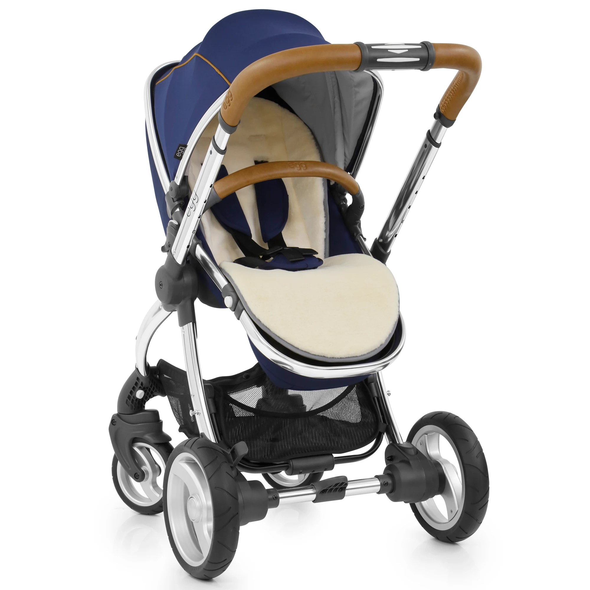 Egg Pushchair Liner Egg Stroller Base And Seat With Fleece Liner Regal Navy