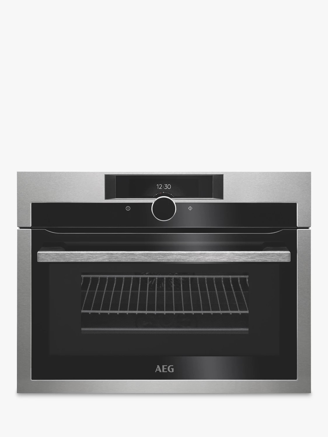 Aeg Online Shop Aeg Kme861000m Combiquick Compact Oven With Microwave Stainless