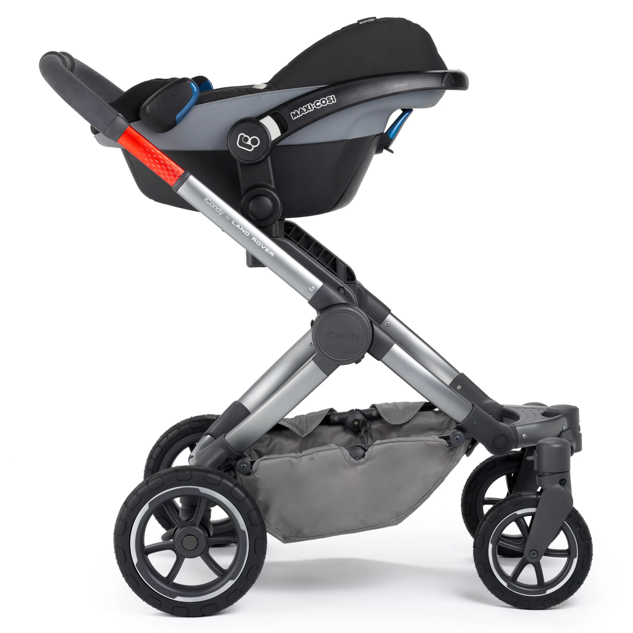3 Wheel Baby Prams Icandy For Landrover Peach All Terrain Special Edition Pushchair And Carrycot