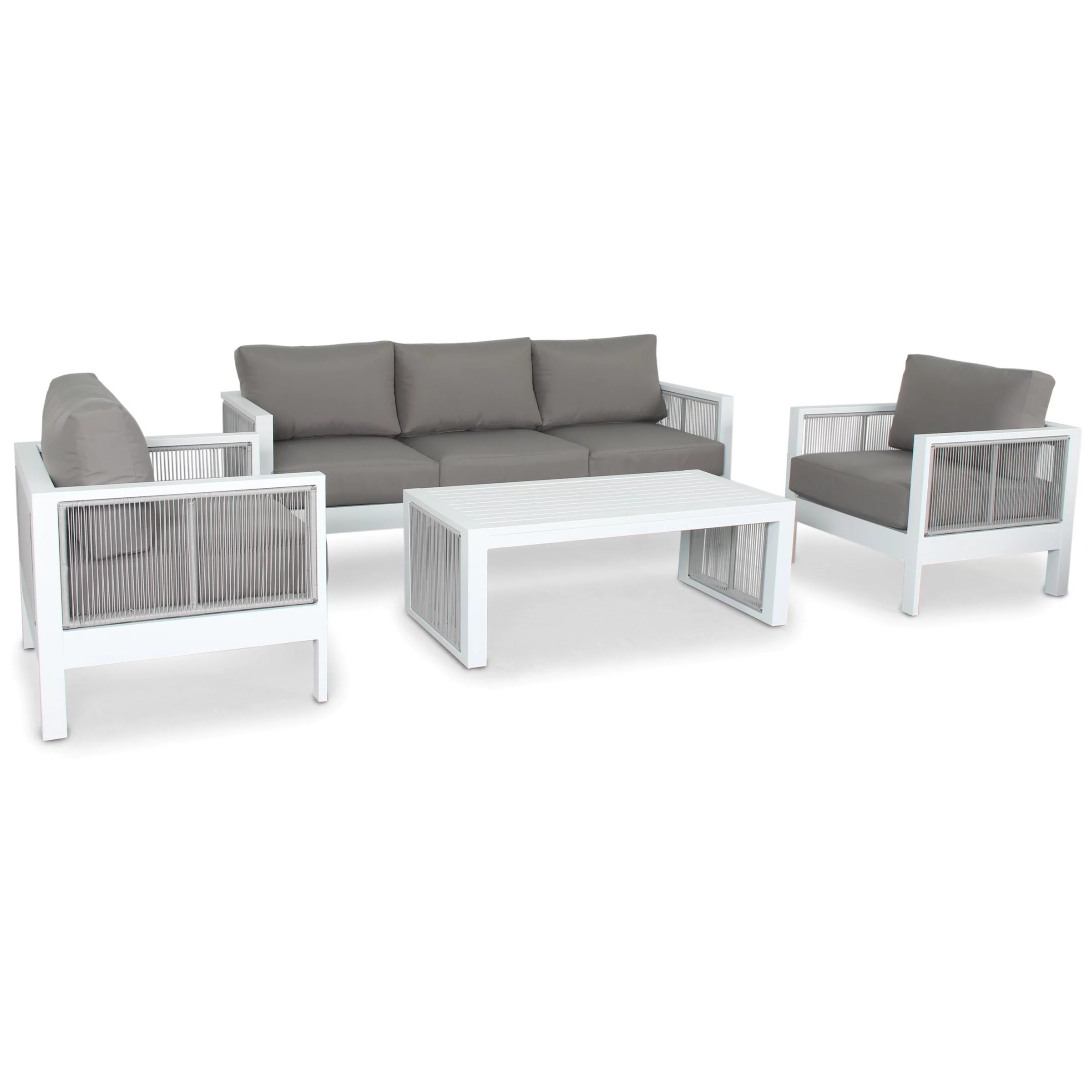Kettler Lounge Kettler Katarina 5 Seater Garden Lounge Table And Chairs Set