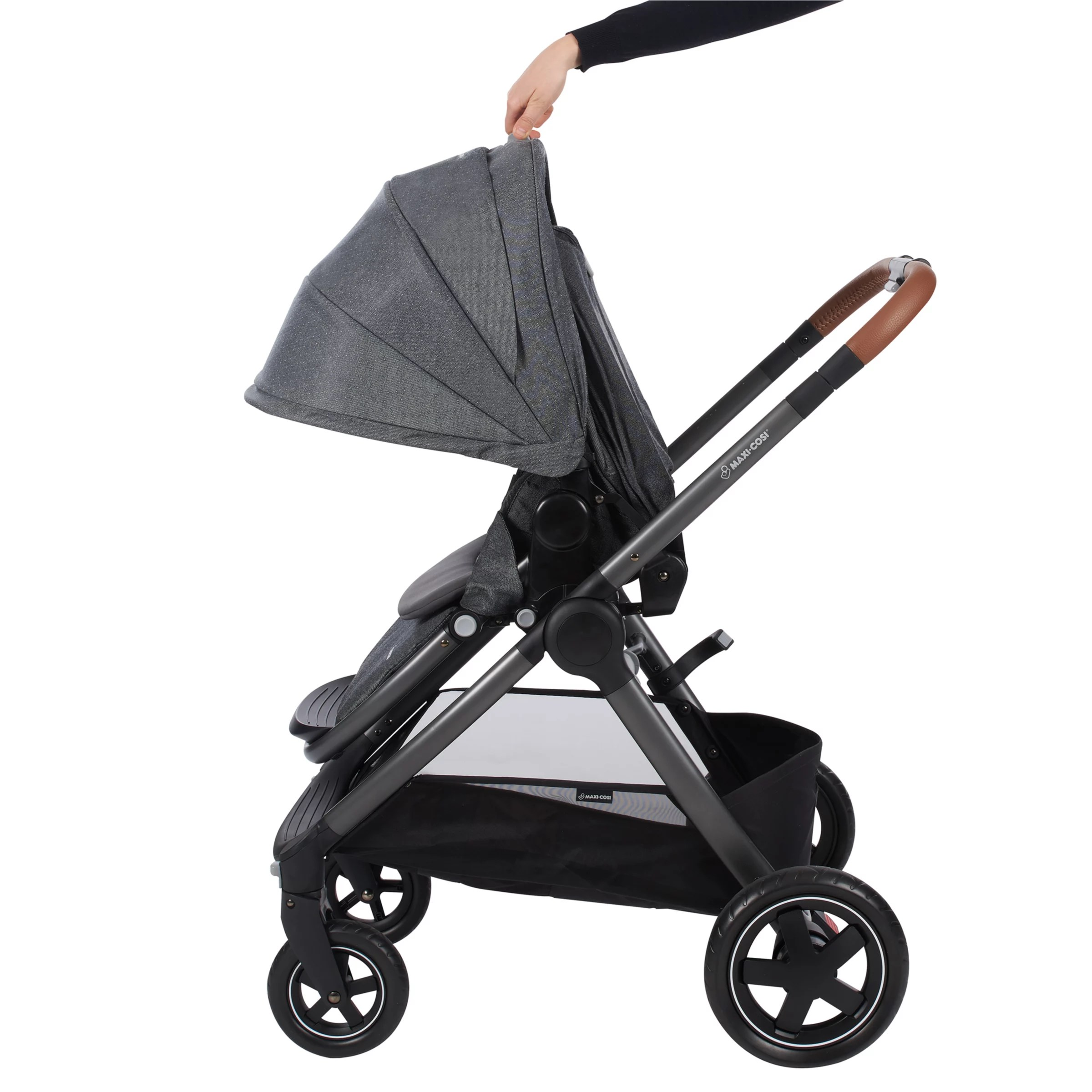 Maxi-cosi Adorra Travel System - Graphic Flower Maxi Cosi Adorra Pushchair Sparkling Grey