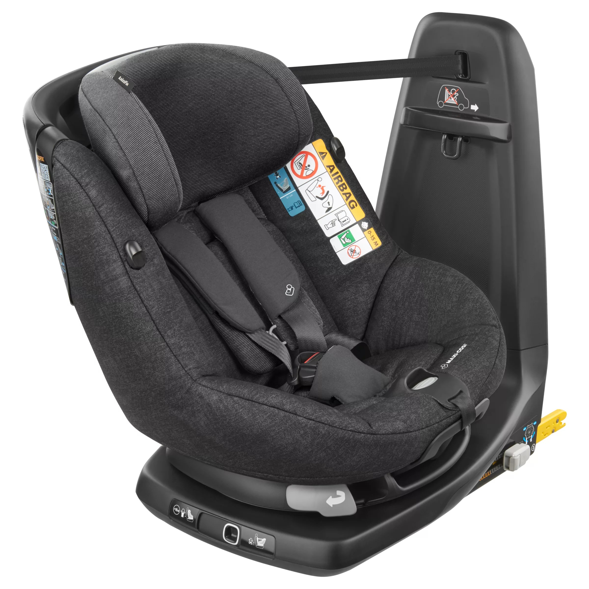 Maxi Cosi Baby Car Seat How To Install Maxi Cosi Axissfix Group 1 I Size Car Seat Nomad Black