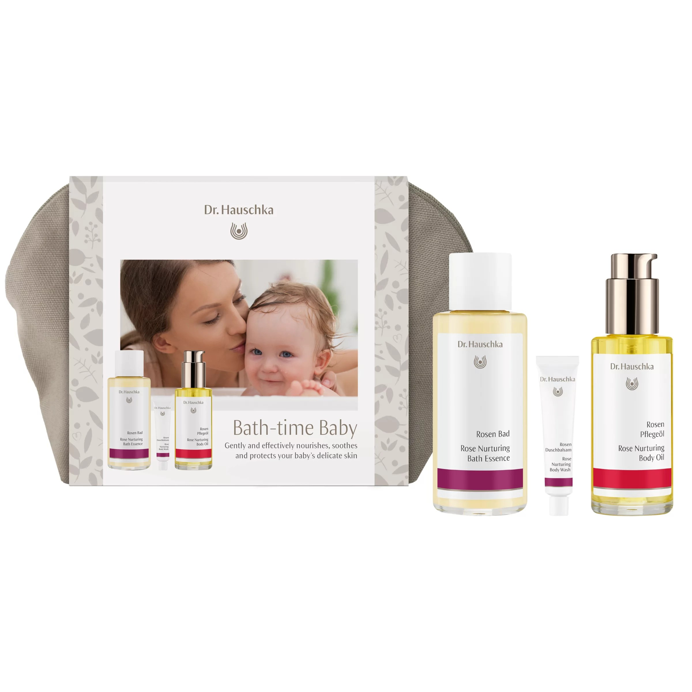Bad Set For Baby Dr Hauschka Bath Time Baby Gift Set At John Lewis Partners