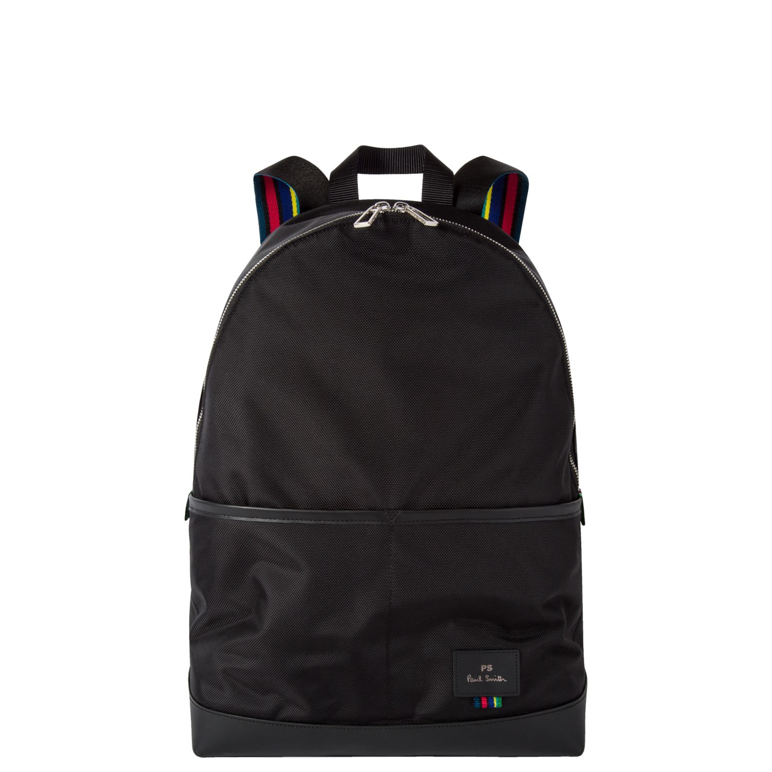 Baby Bags John Lewis Ps Paul Smith Nylon Backpack Black At John Lewis Partners
