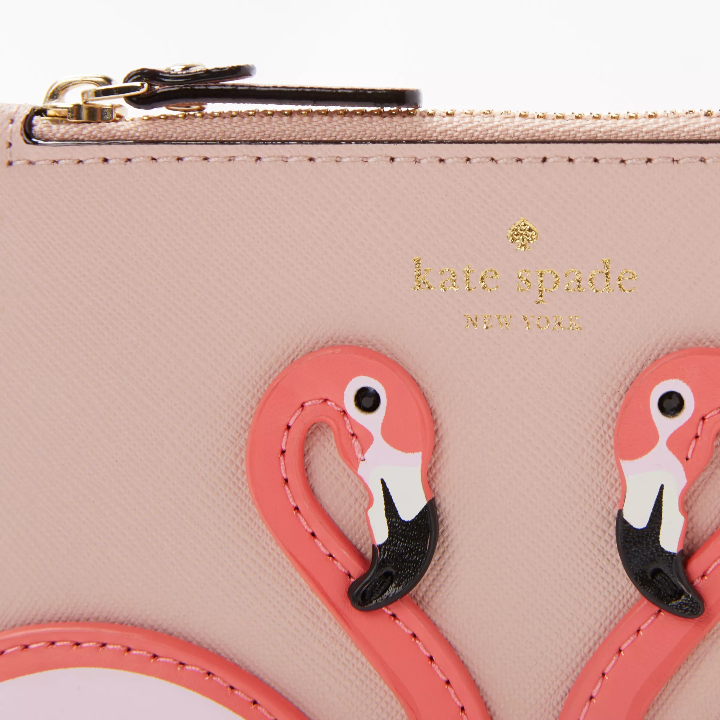 By The Pool Flamingo Kate Spade Kate Spade New York By The Pool Flamingo Marley Applique Leather