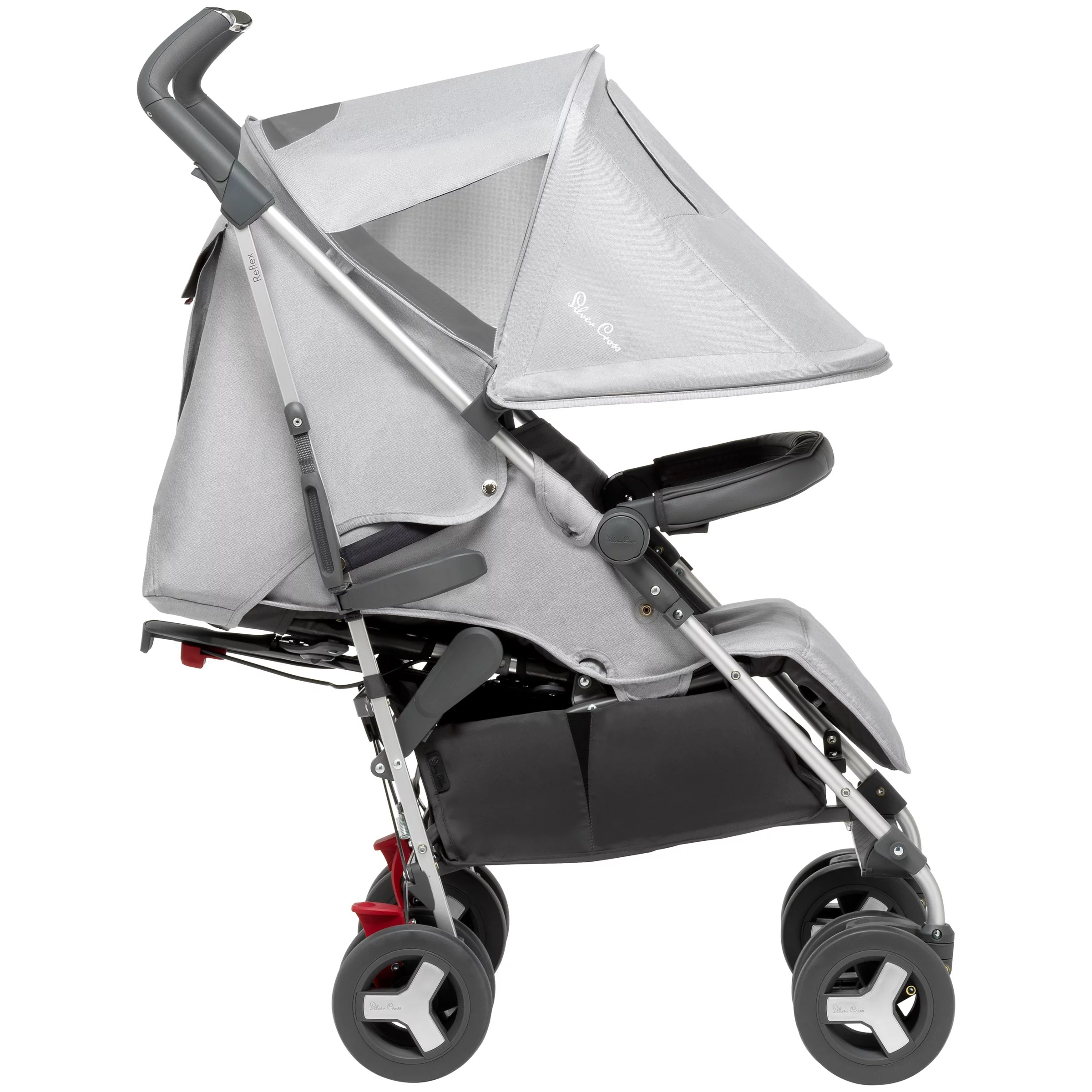 Toddler Pushchair Up To 25kg Silver Cross Reflex Stroller Platinum Silver At John