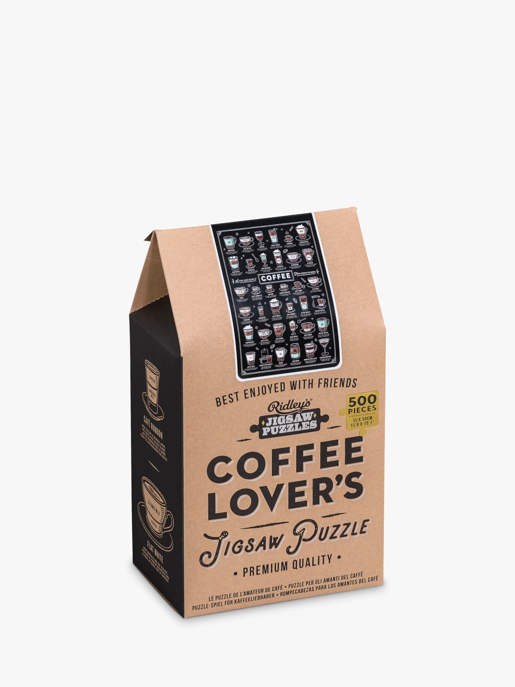 Puzzle Shop Brisbane Ridleys Coffee Lovers Jigsaw Puzzle 500 Pieces At John Lewis
