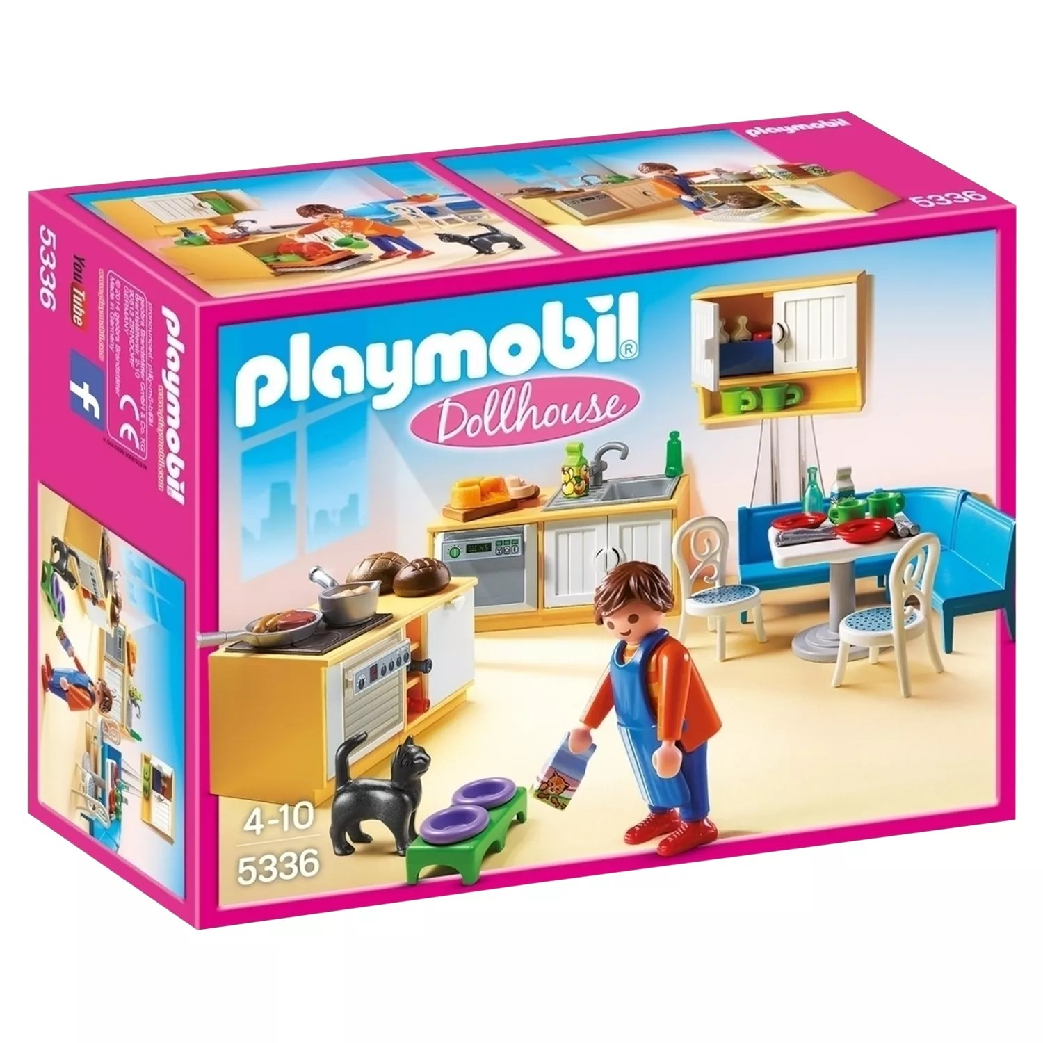 Dollhouse Playmobil Playmobil Dollhouse 5336 Country Kitchen