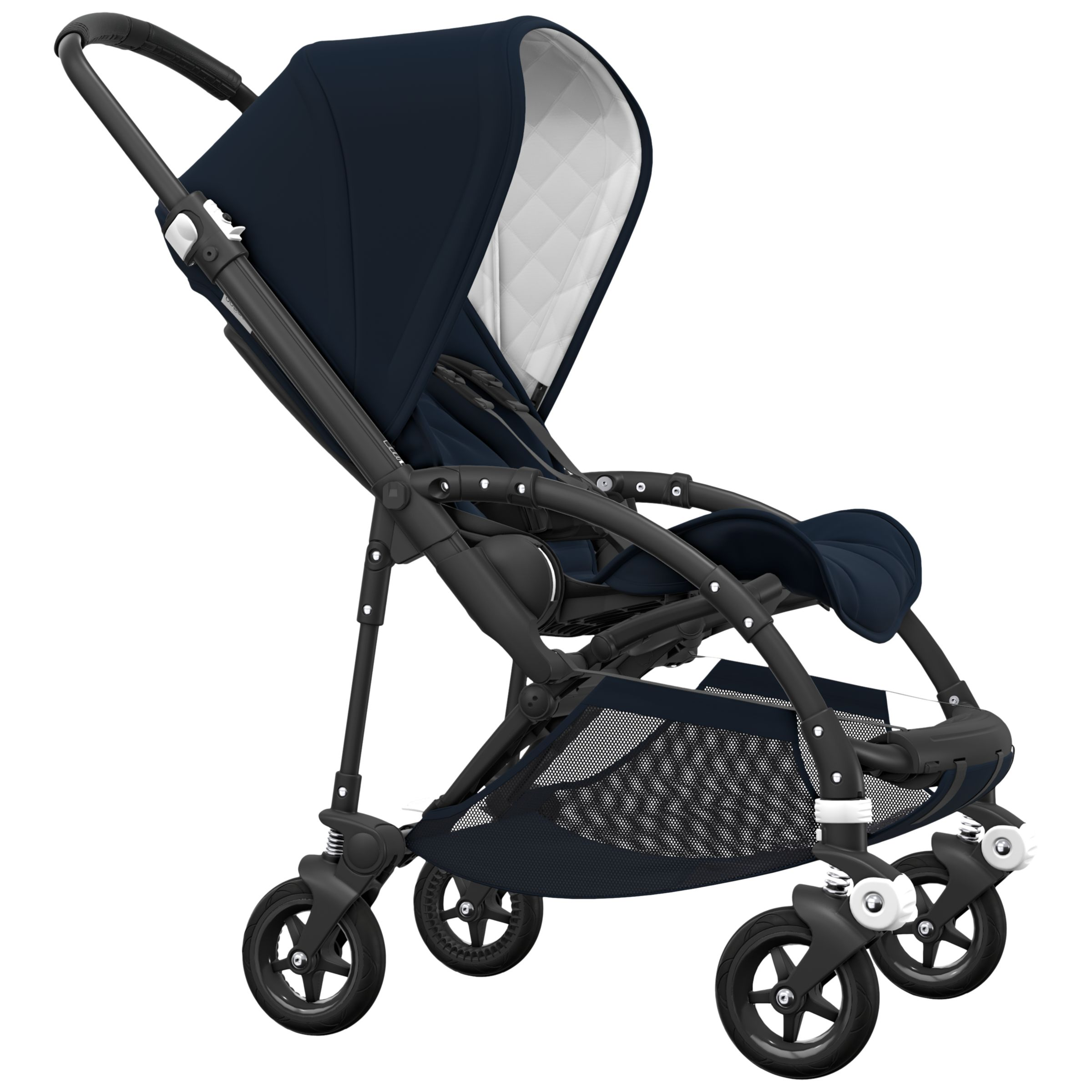 Bugaboo Bee With Buggy Board Bugaboo Bee 5 Classic Pushchair Dark Navy Black