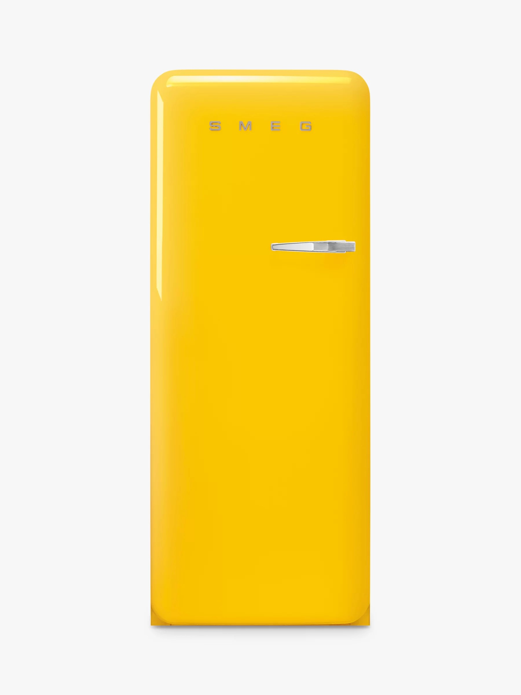 Yellow Fridge Freezer Smeg Fab28l Freestanding Fridge With Freezer Compartment