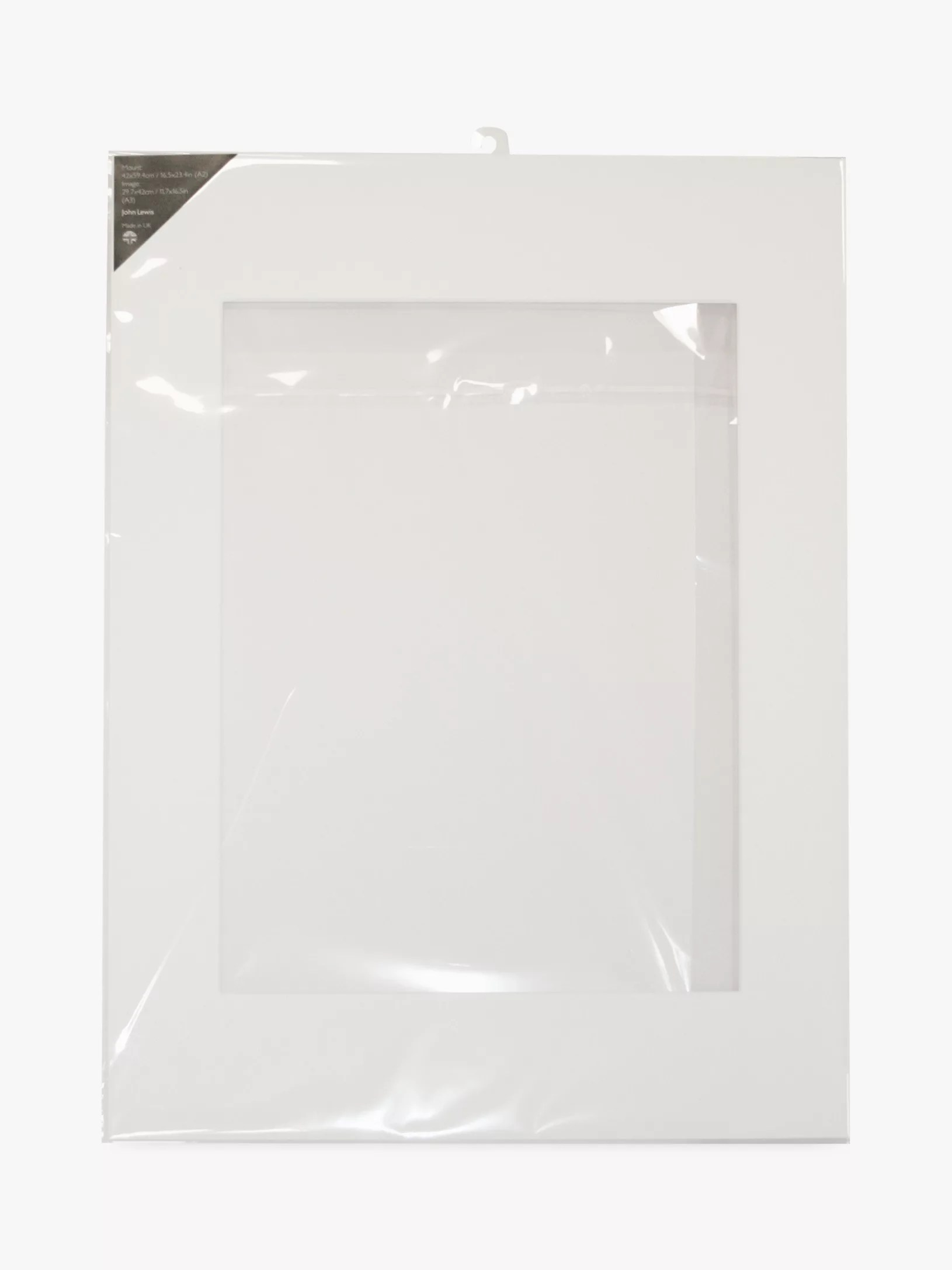 A2 White Frame John Lewis Partners Photo Mount A3 30 X 42cm Image For A2