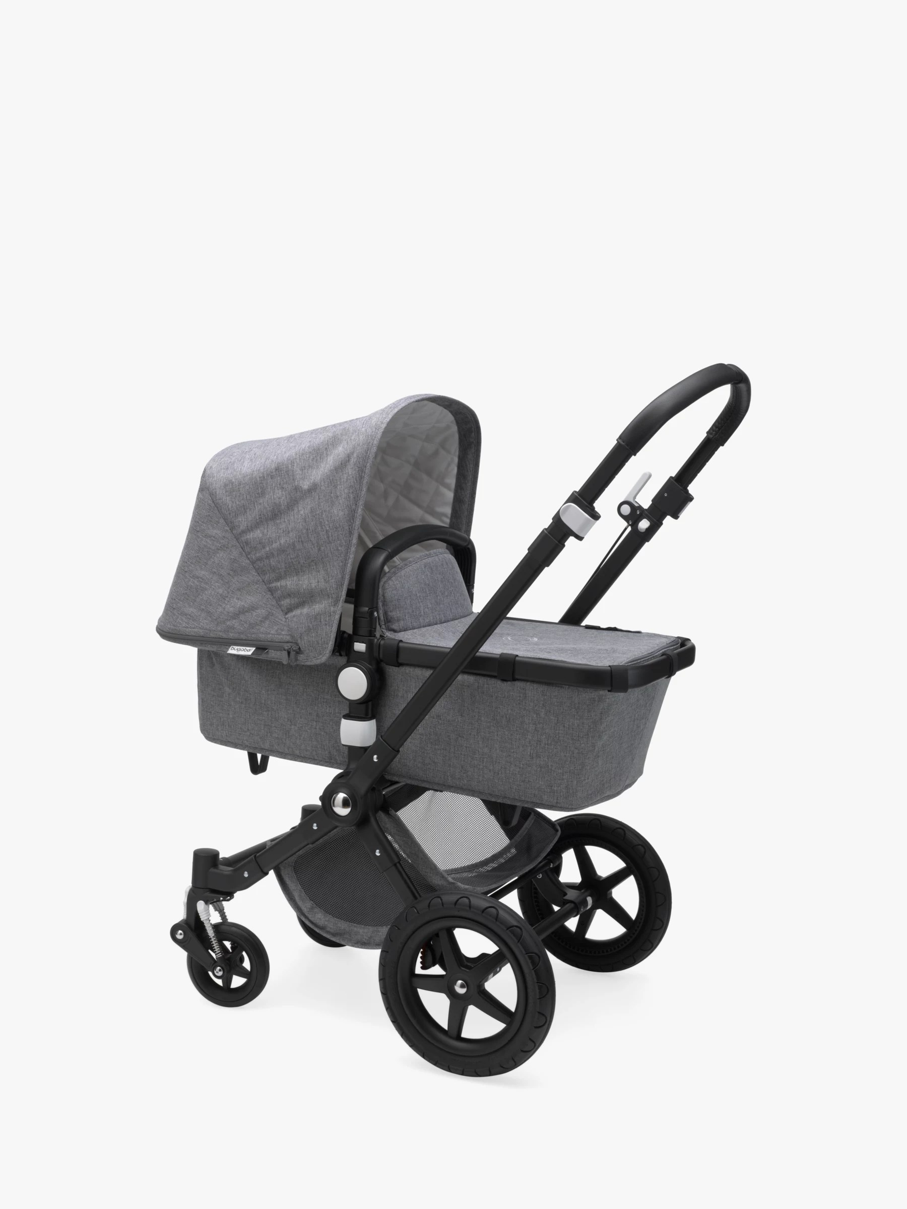 Bugaboo Stroller How To Fold Bugaboo Cameleon3 Plus Classic Complete Pushchair Grey Melange