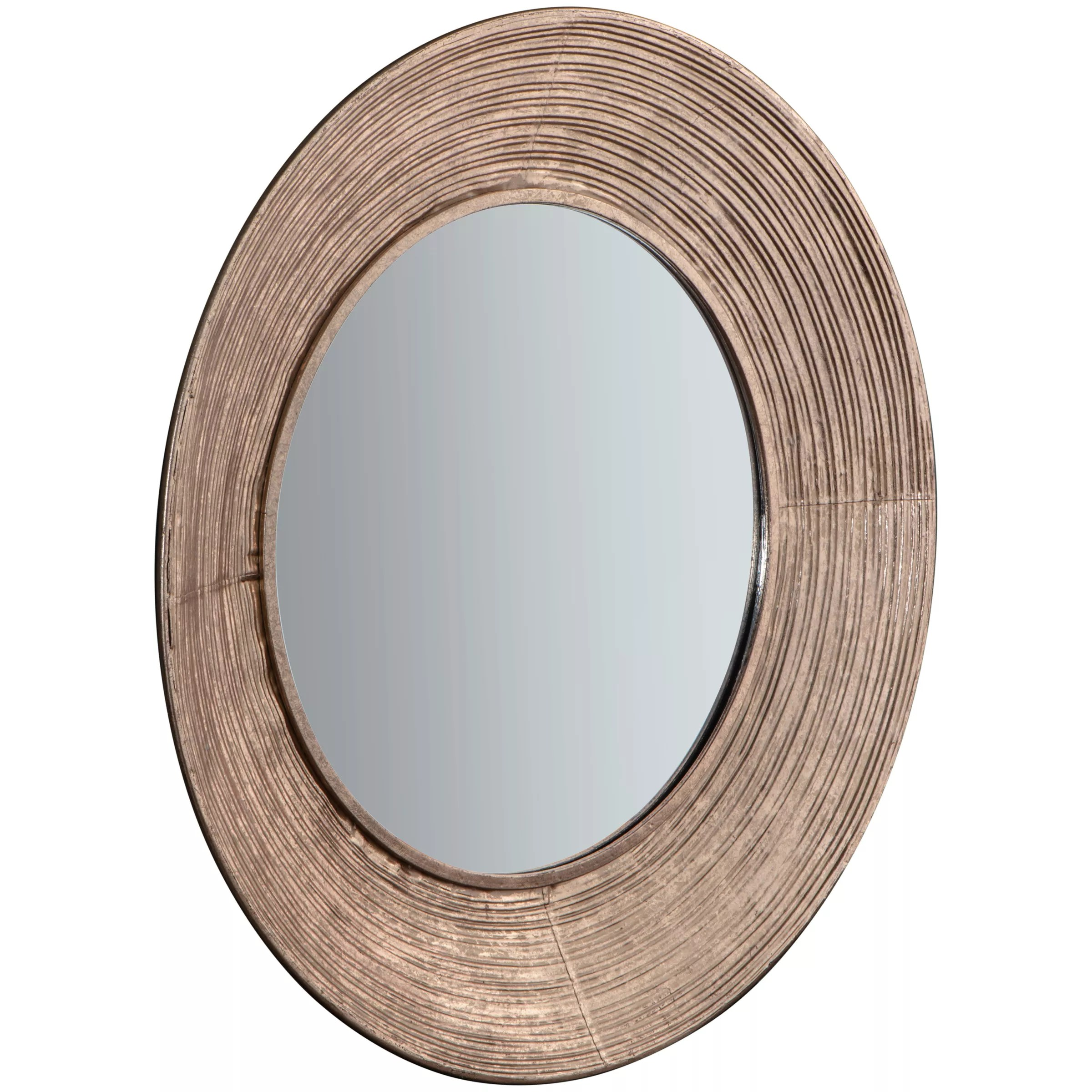 Buy Round Mirror Aurelia Round Mirror 72cm Metallic At John Lewis And Partners