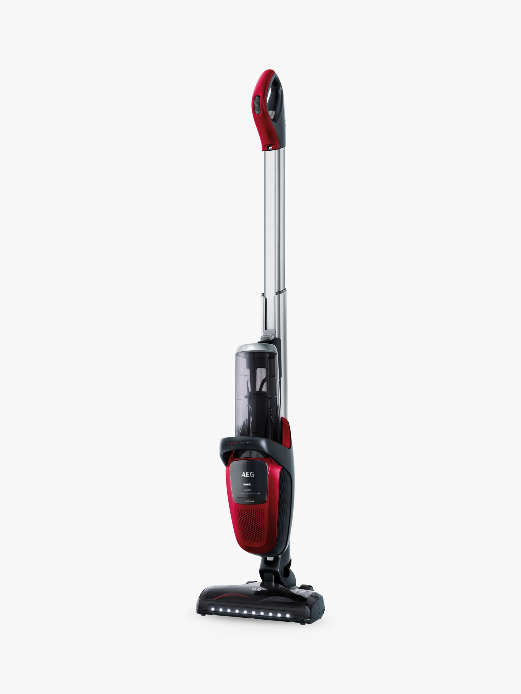 Aeg Online Shop Aeg Fx9 Ultimate Pet Cordless Vacuum Cleaner Chilli Red At John