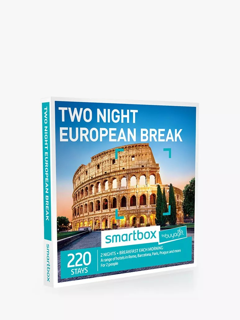 Hotel Caminetto Smartbox Smartbox By Buyagift 2 Night European Minibreak Gift Experience At
