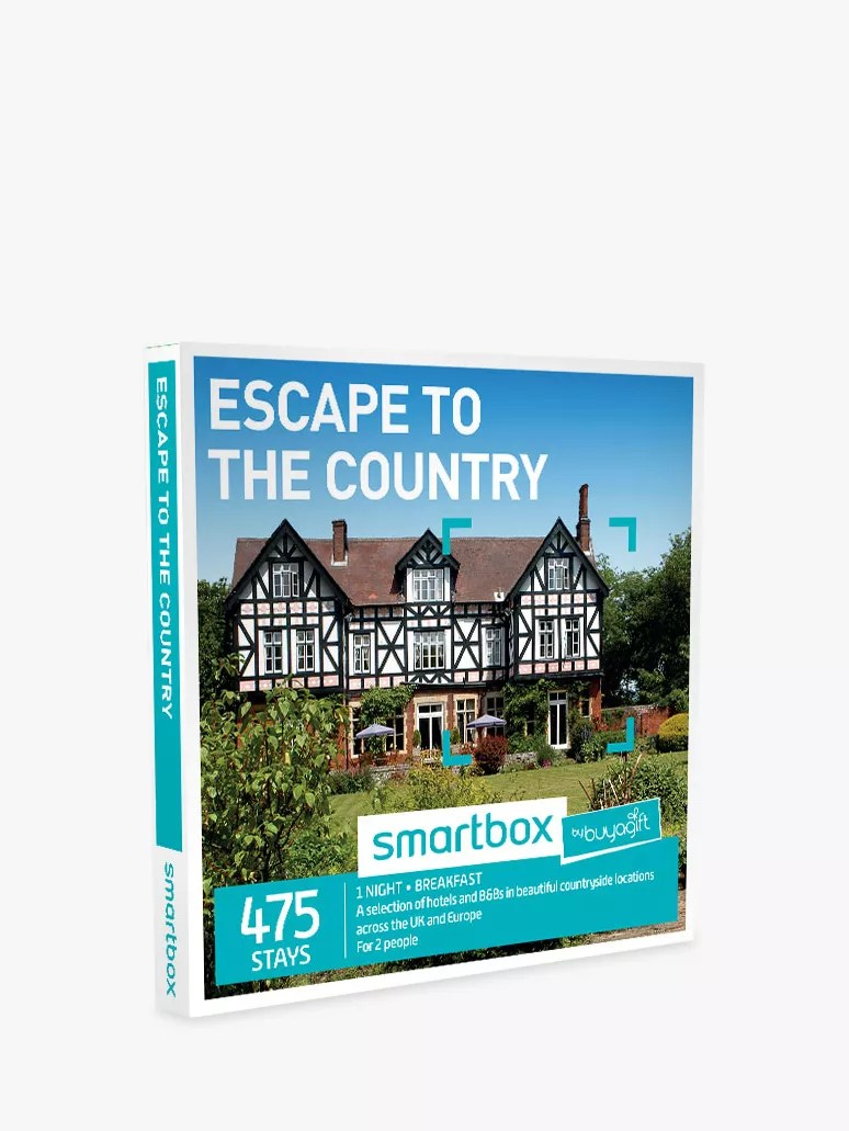 Hotel Caminetto Smartbox Smartbox By Buyagift Escape To The Country For 2 Gift Experience