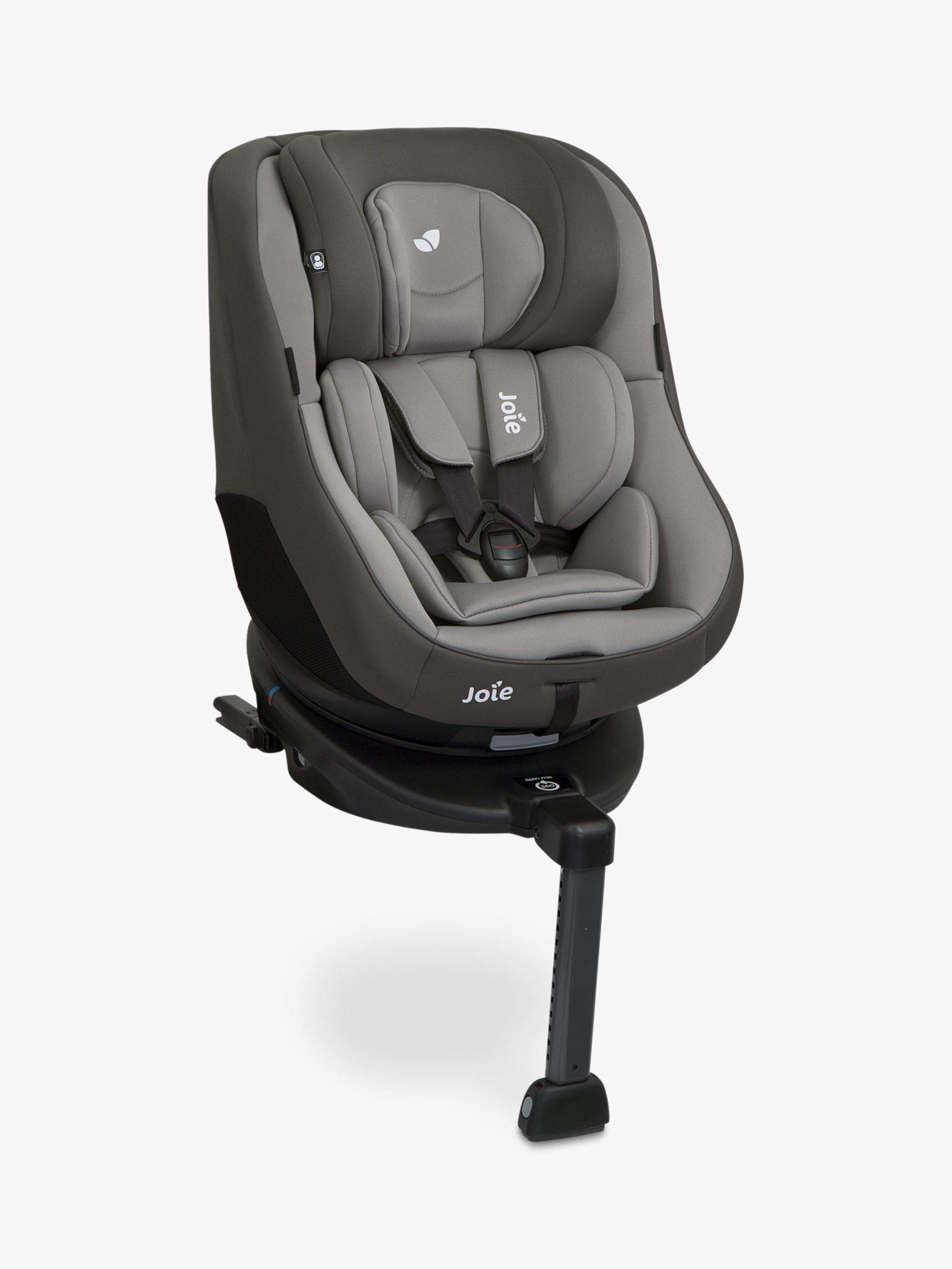 Joie 360 Isofix Installation Joie Spin 360 Group 1 Car Seat Dark Pewter