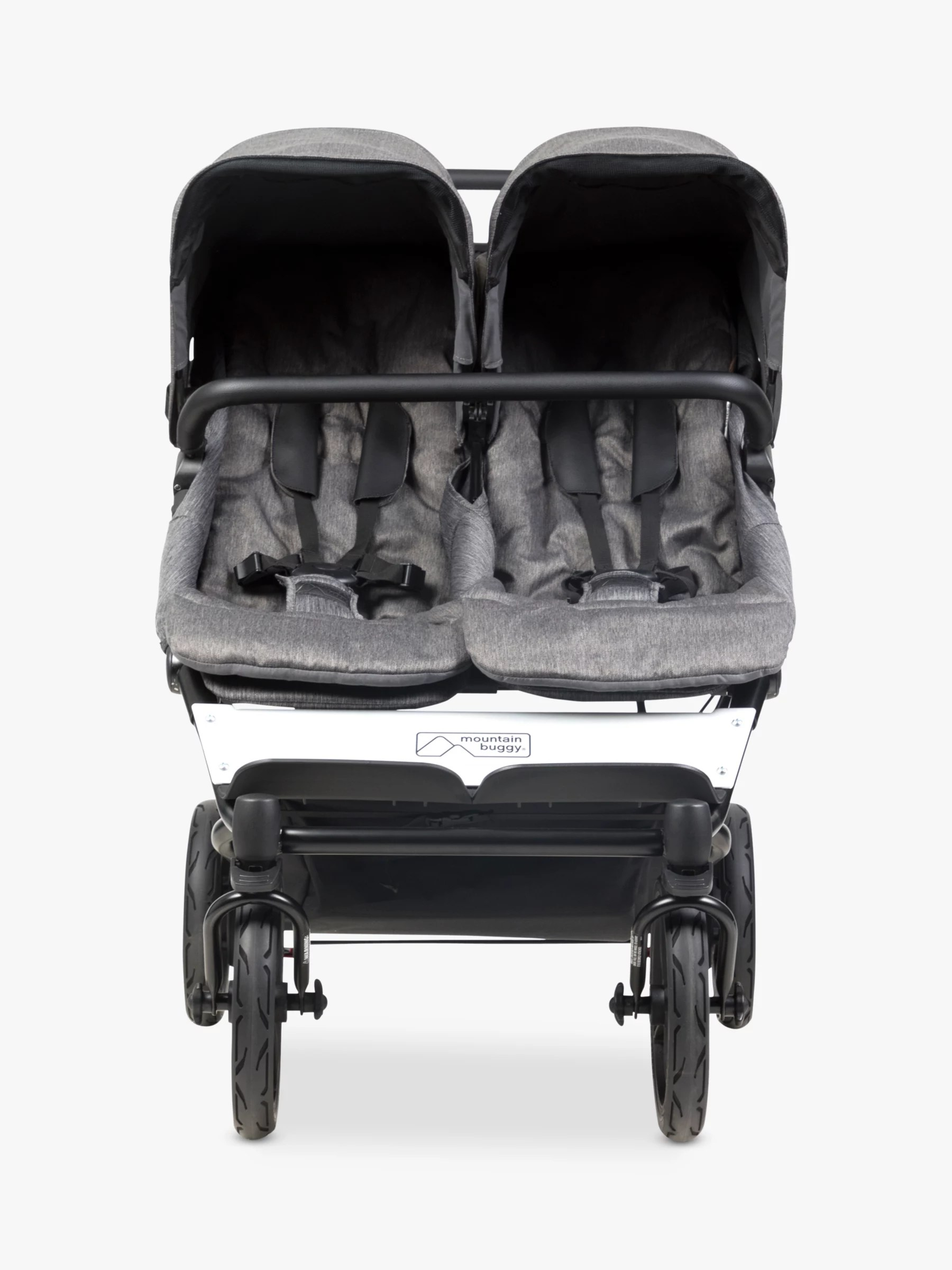 Mountain Buggy Double Kit Mountain Buggy Duet Luxury Collection Pushchair Herringbone