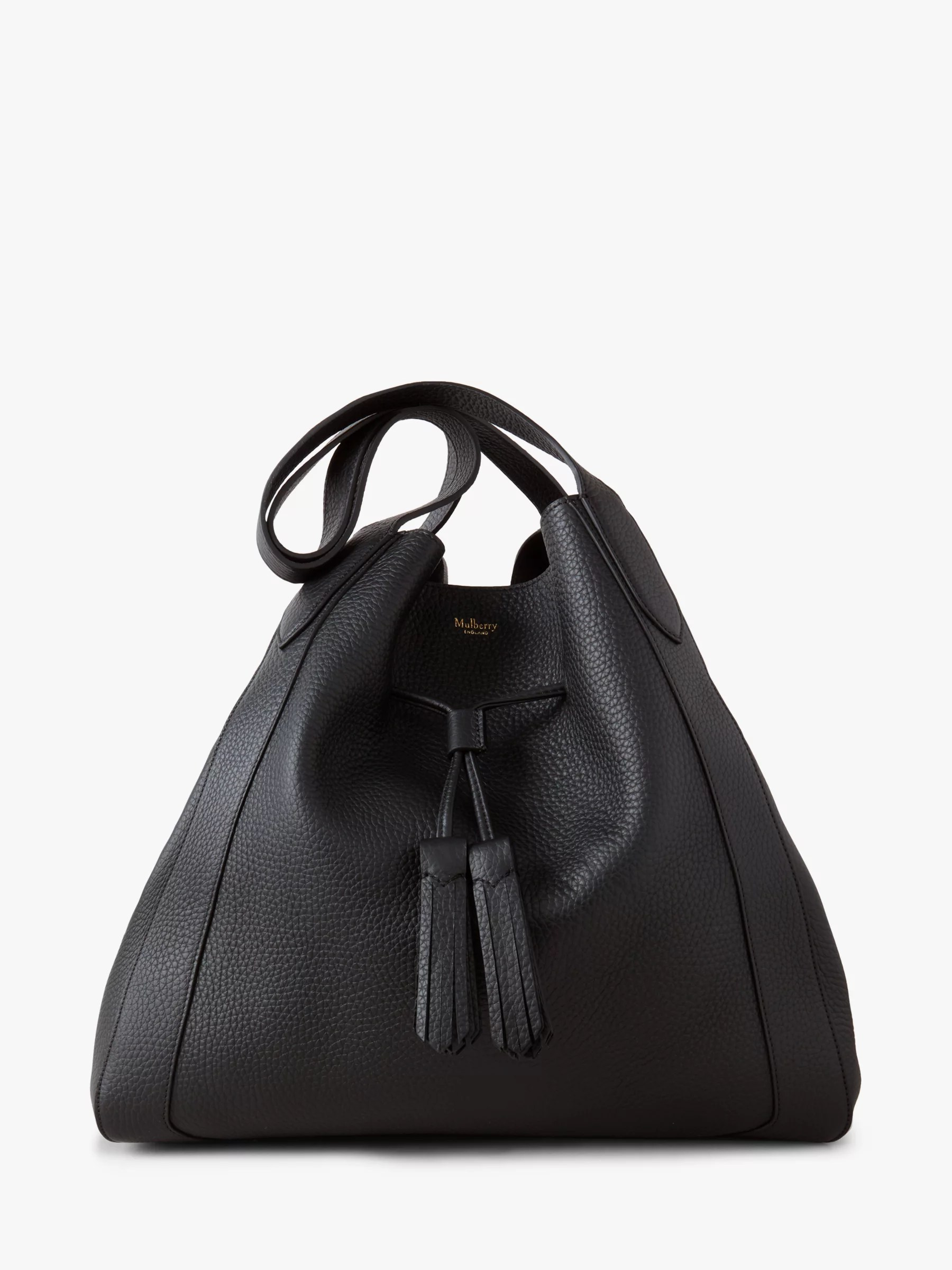 Baby Bags John Lewis Mulberry Millie Heavy Grain Leather Tote Bag At John Lewis