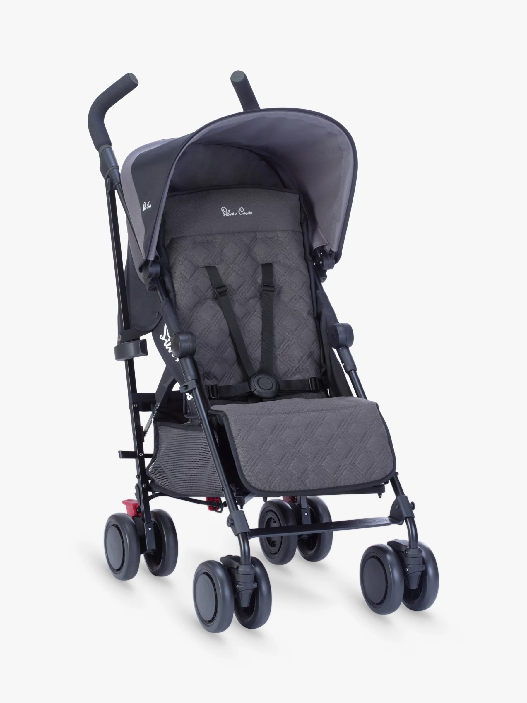 Best Knee Stroller Silver Cross Pop Stroller Flint
