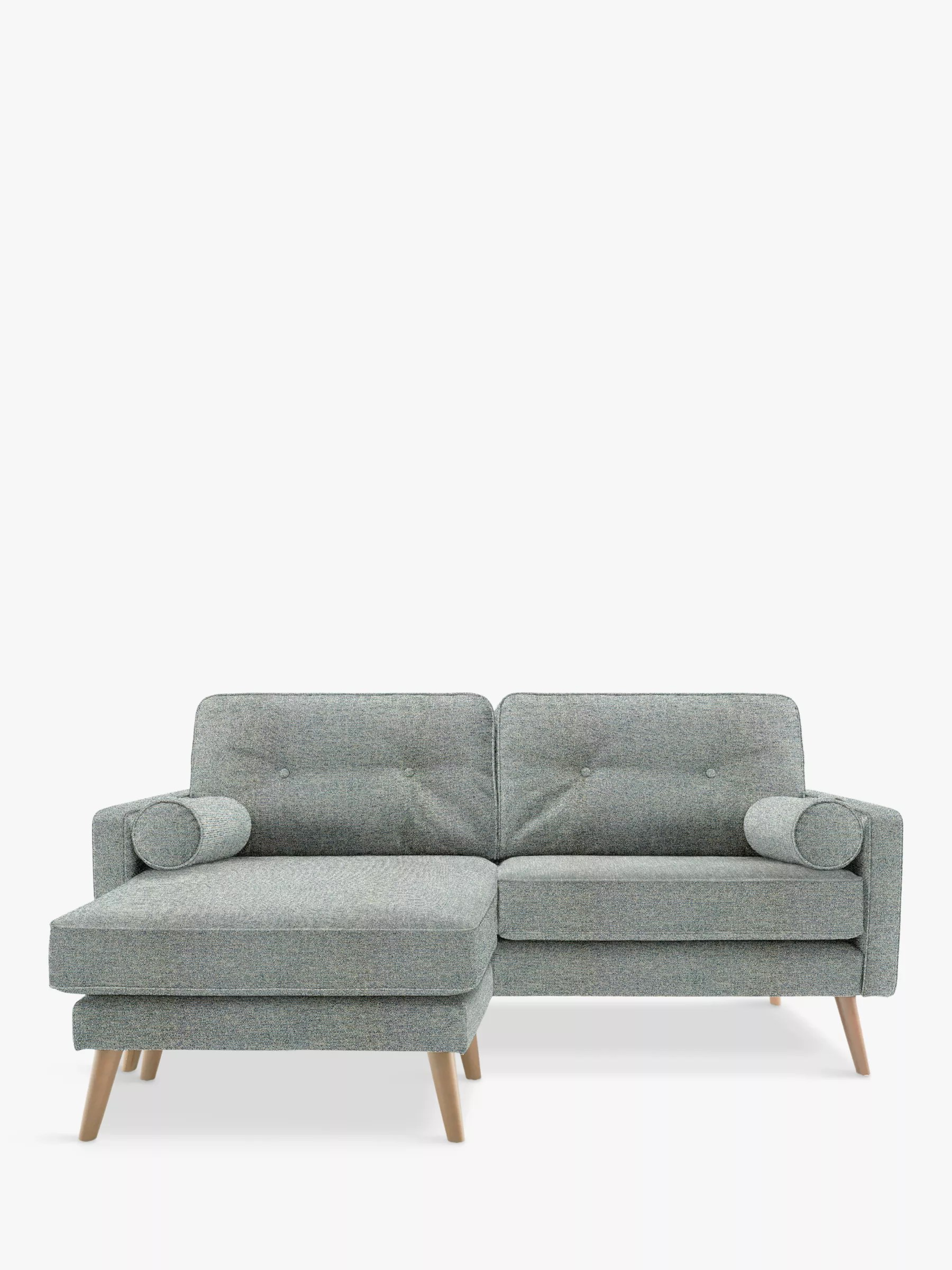 G Plan Vintage The Sixty Five Medium 2 Seater Chaise End Sofa Etch Ink At John Lewis Partners