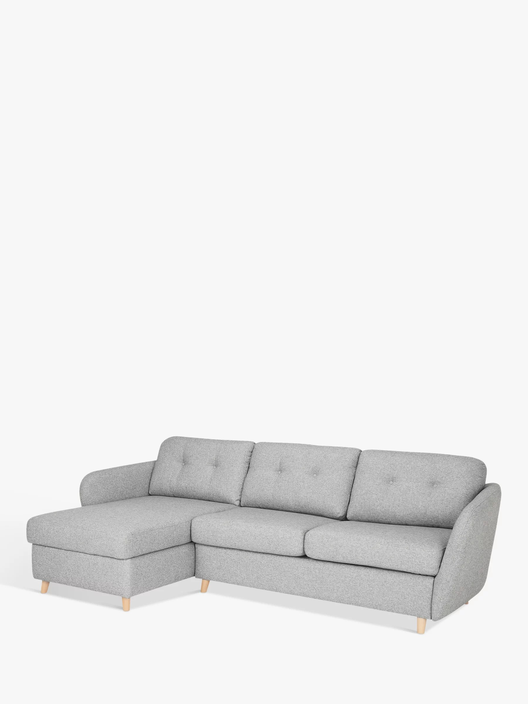 Sofa Bed Buy House By John Lewis Arlo Lhf Chaise With Storage Sofa Bed Light Leg