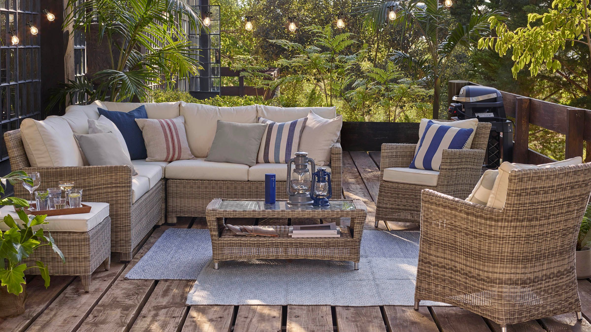 Garden Furniture Garden Tables Chairs Rattan John Lewis Partners - Outdoor Furniture Clearance Free