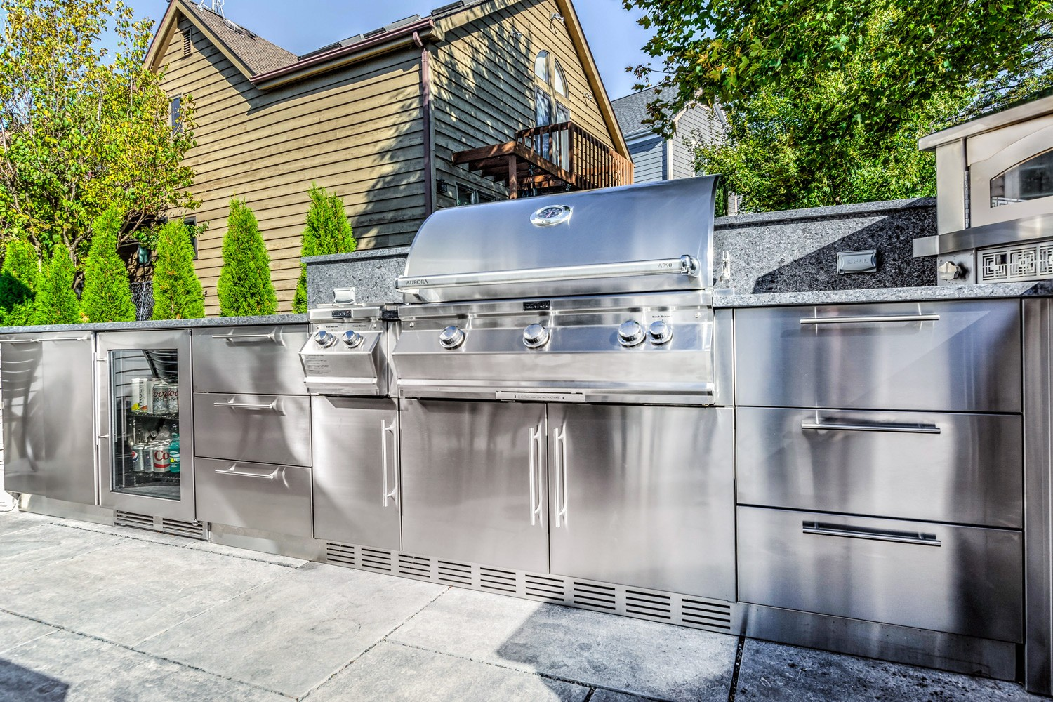 Outdoor Stainless Steel Cabinets John Michael Outdoor Kitchens Best Stainless Steel