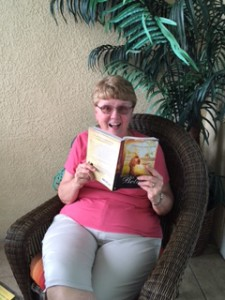 Nancy lives in Ohio but she's reading WSB while on vacation in Sarasota. The perfect beach read!